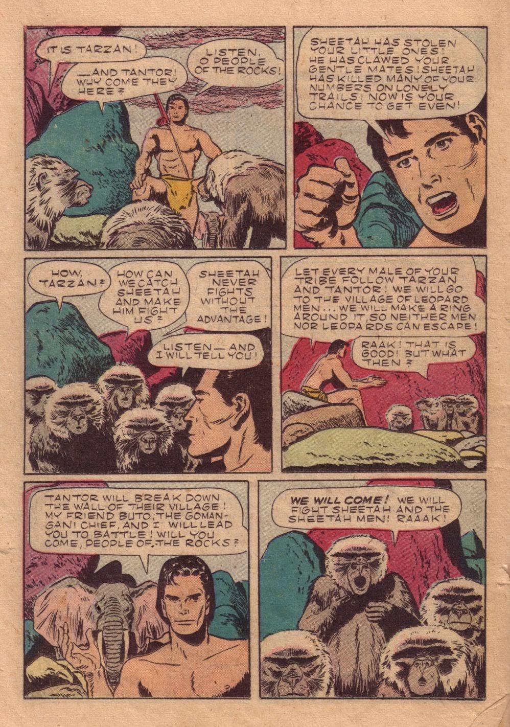 Tarzan (1948) issue 40 - Page 34