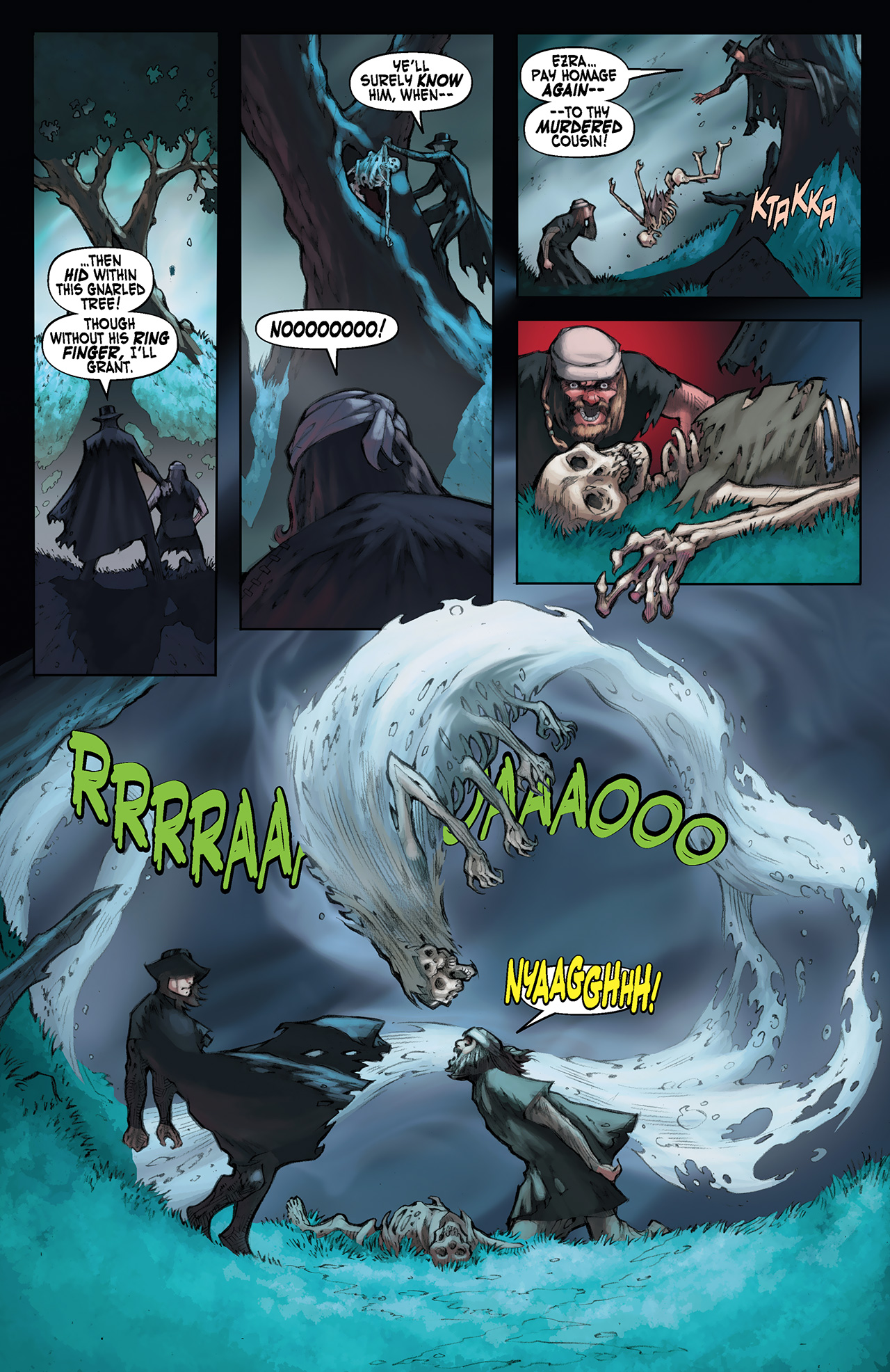Read online Solomon Kane: Red Shadows comic -  Issue #1 - 23