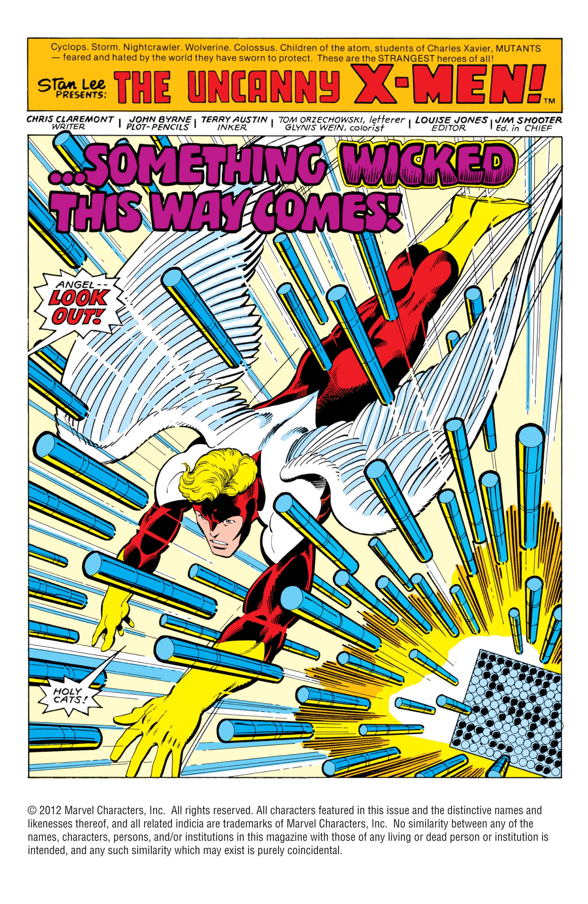 Uncanny X-Men (1963) 139 Page 1