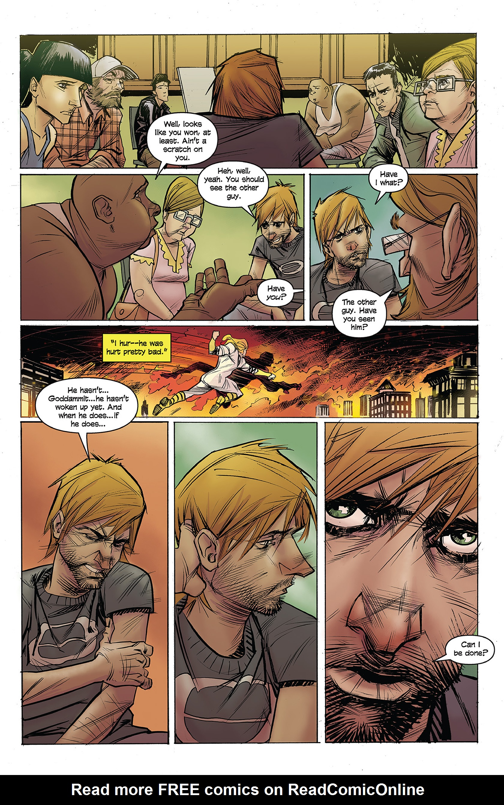Read online Buzzkill comic -  Issue #1 - 16