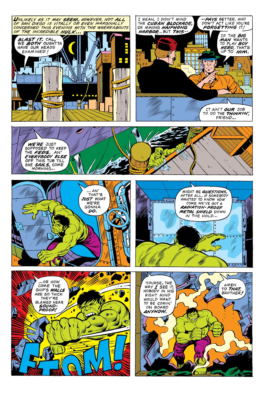Read online Marvel Masterworks: The Incredible Hulk comic -  Issue # TPB 10 (Part 1) - 52