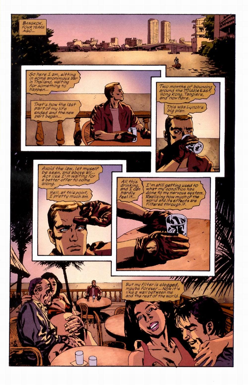 Read online Sleeper comic -  Issue #2 - 5