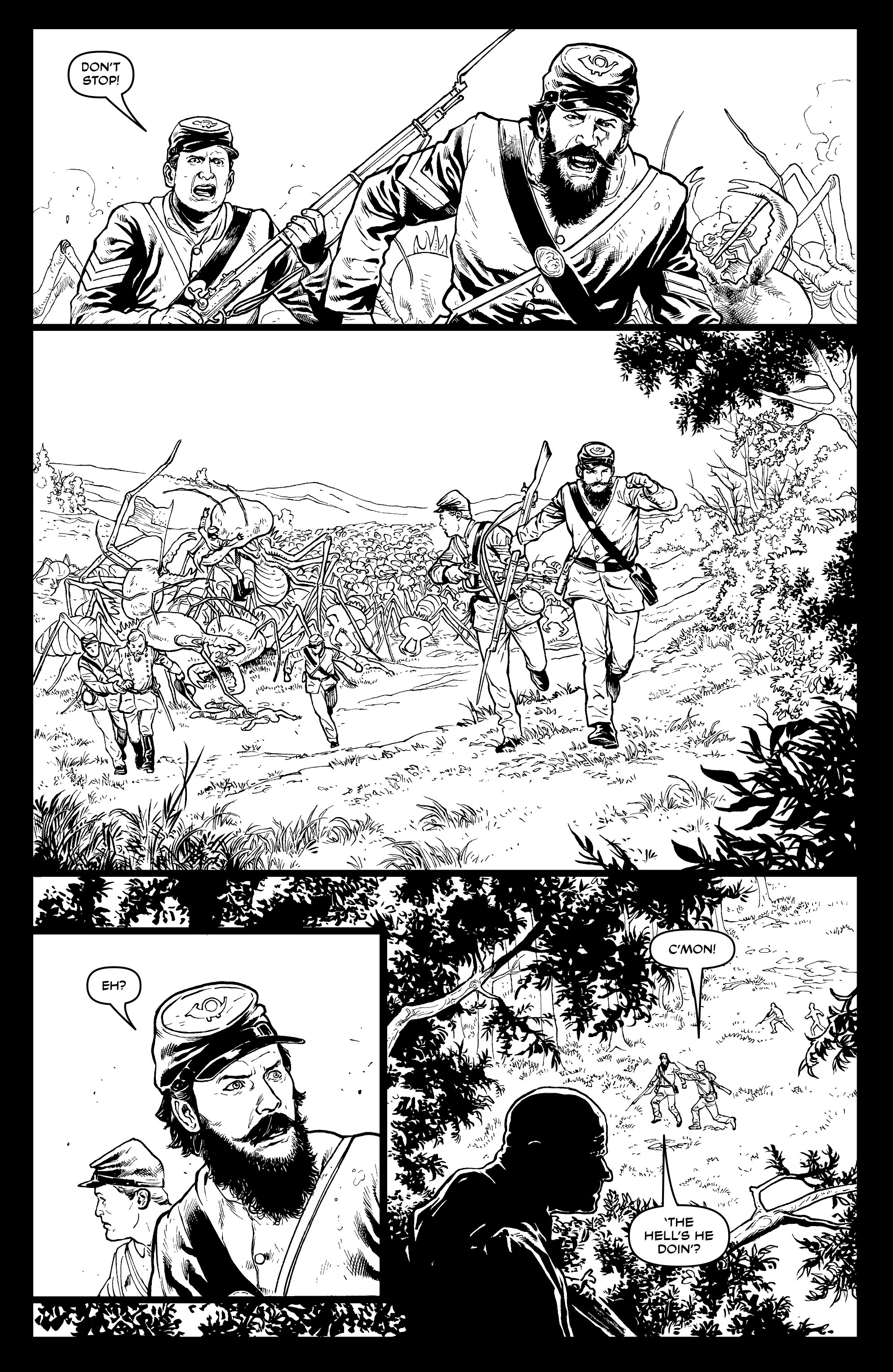 Read online Alan Moore's Cinema Purgatorio comic -  Issue #9 - 24