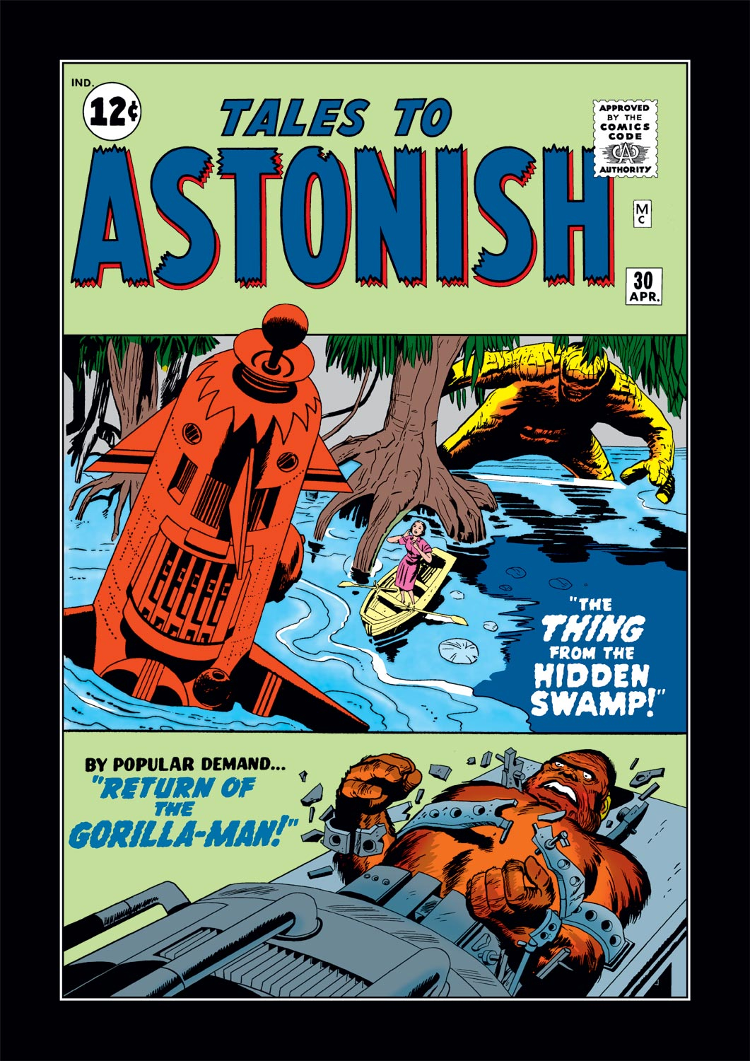 Tales to Astonish (1959) issue 30 - Page 1