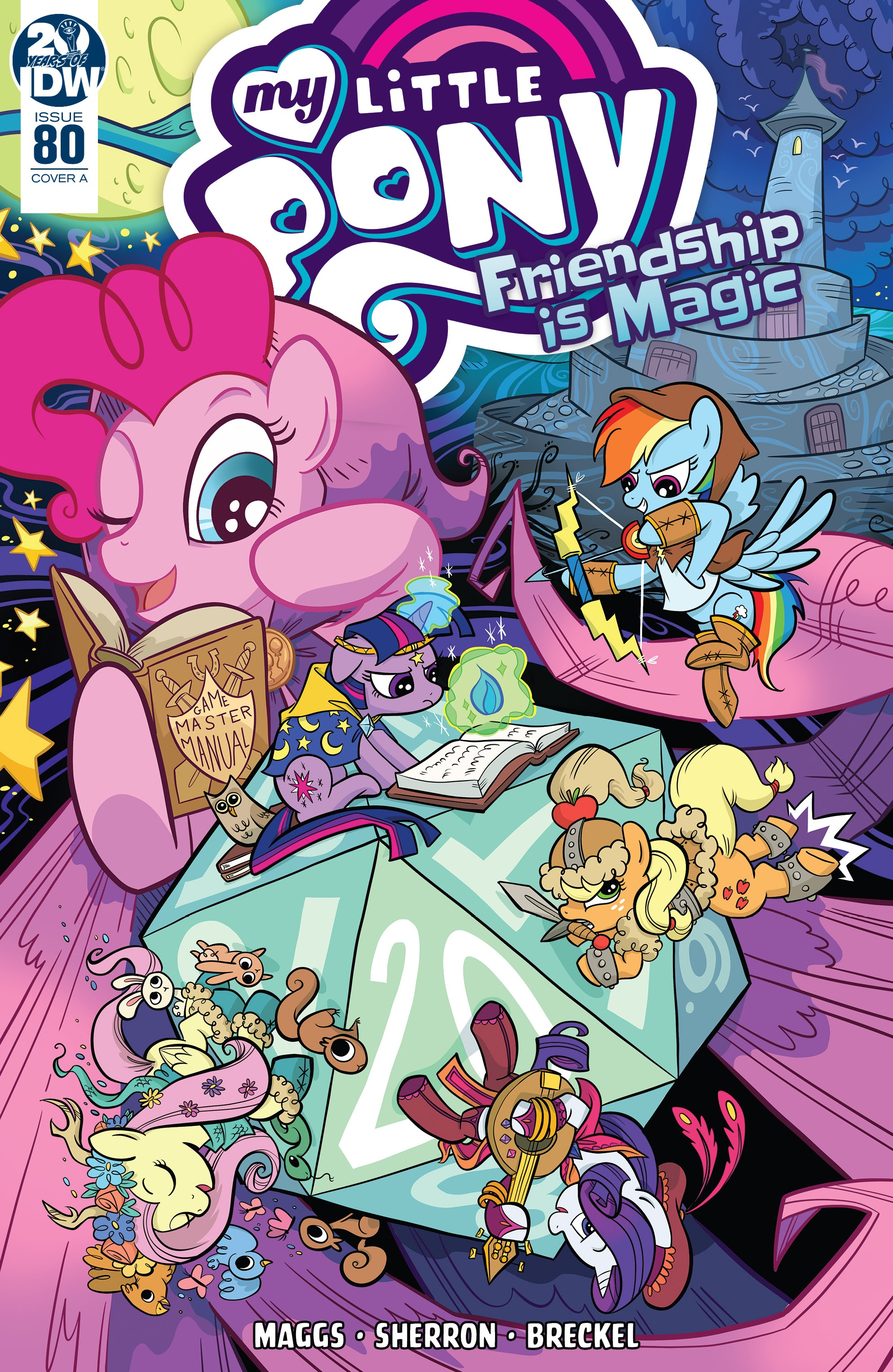 My Little Pony: Friendship is Magic issue 80 - Page 1