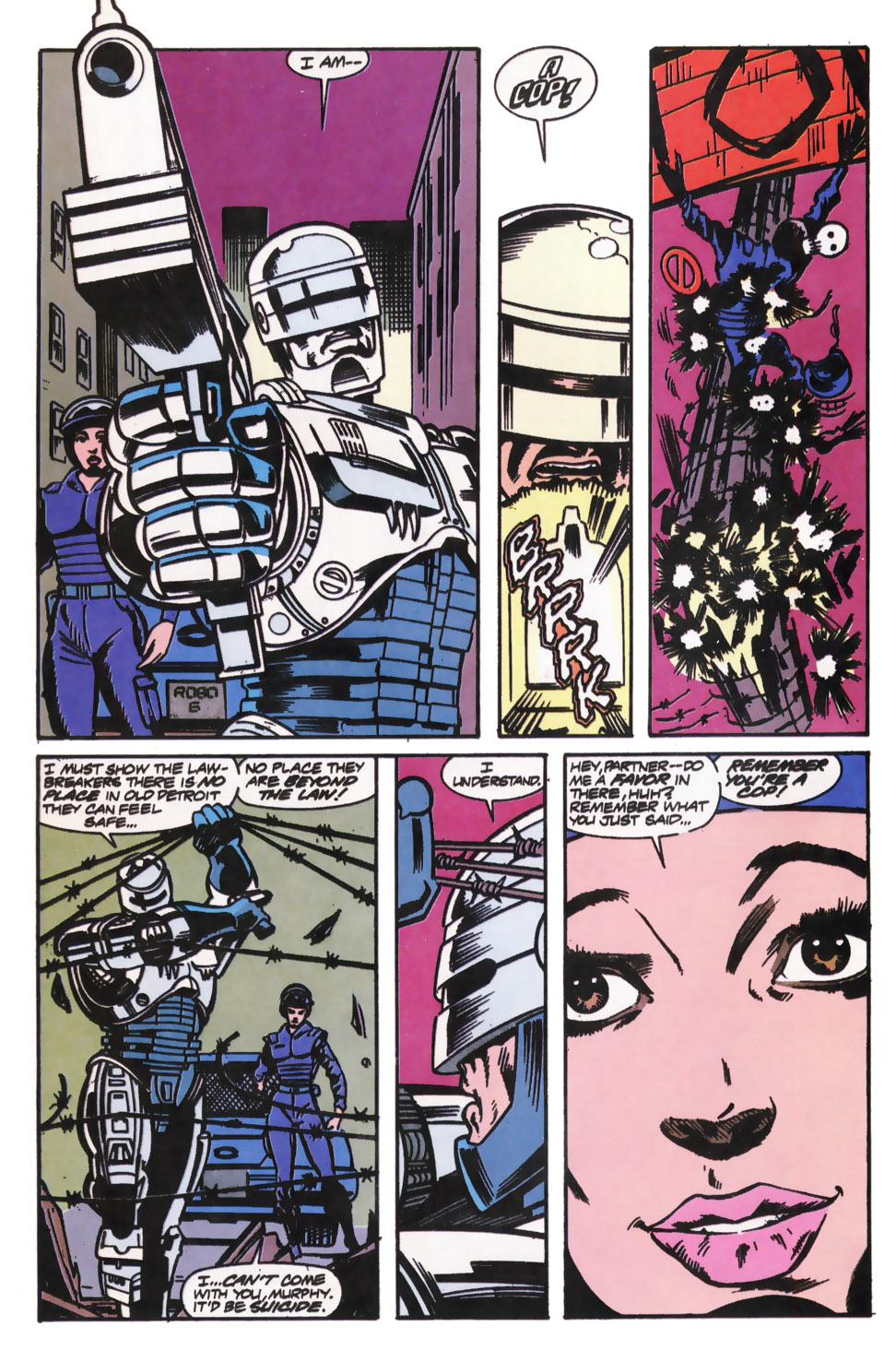 Read online Robocop (1990) comic -  Issue #12 - 14