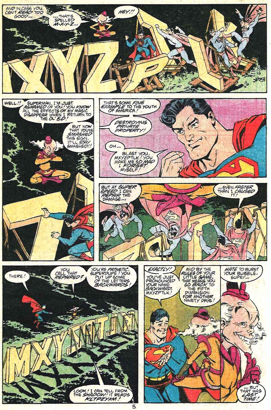 Read online Adventures of Superman (1987) comic -  Issue #441 - 6