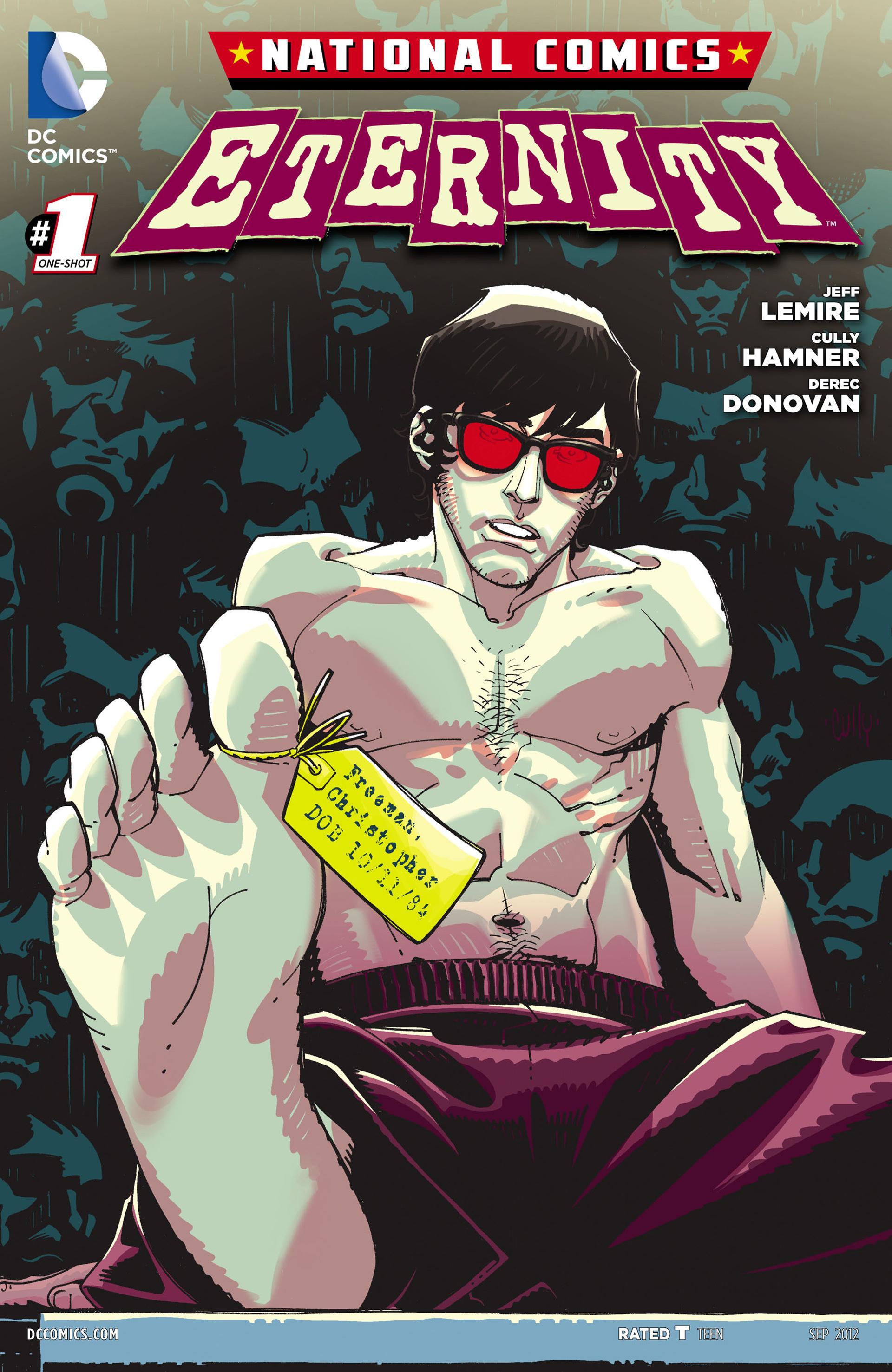 Read online National Comics: Eternity comic -  Issue # Full - 1