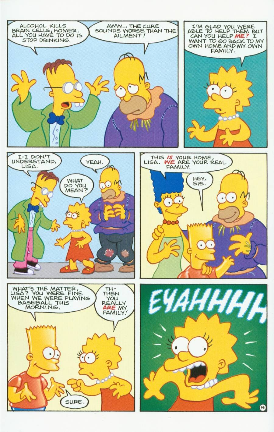 Read online Treehouse of Horror comic -  Issue #7 - 27