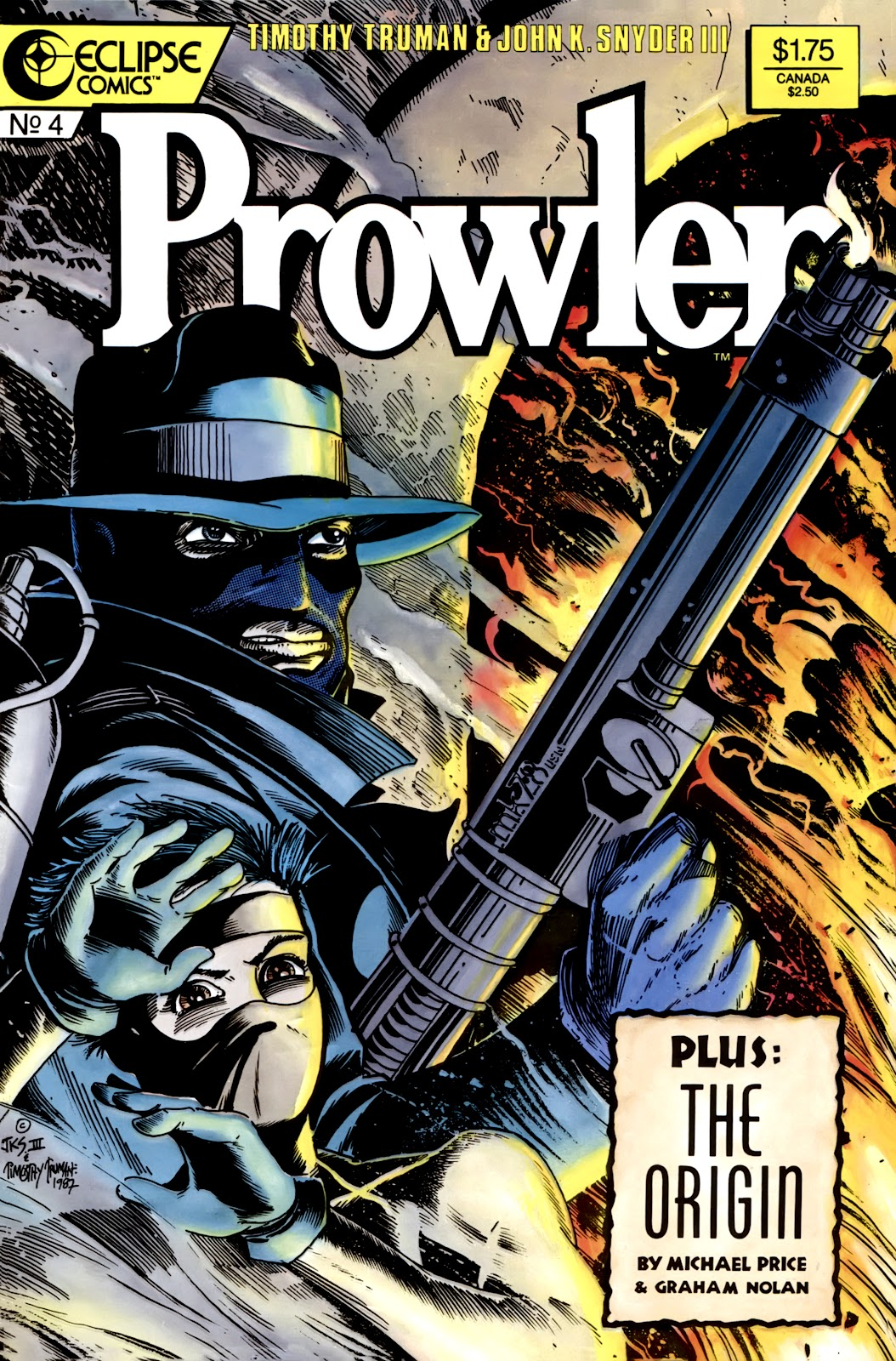 Prowler (1987) issue 4 - Page 1