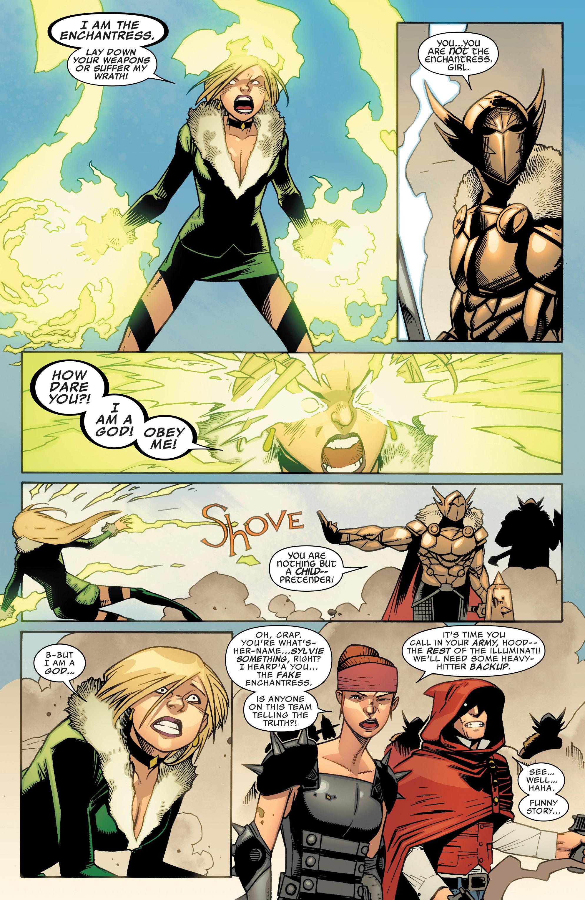 Read online Illuminati comic -  Issue #5 - 7