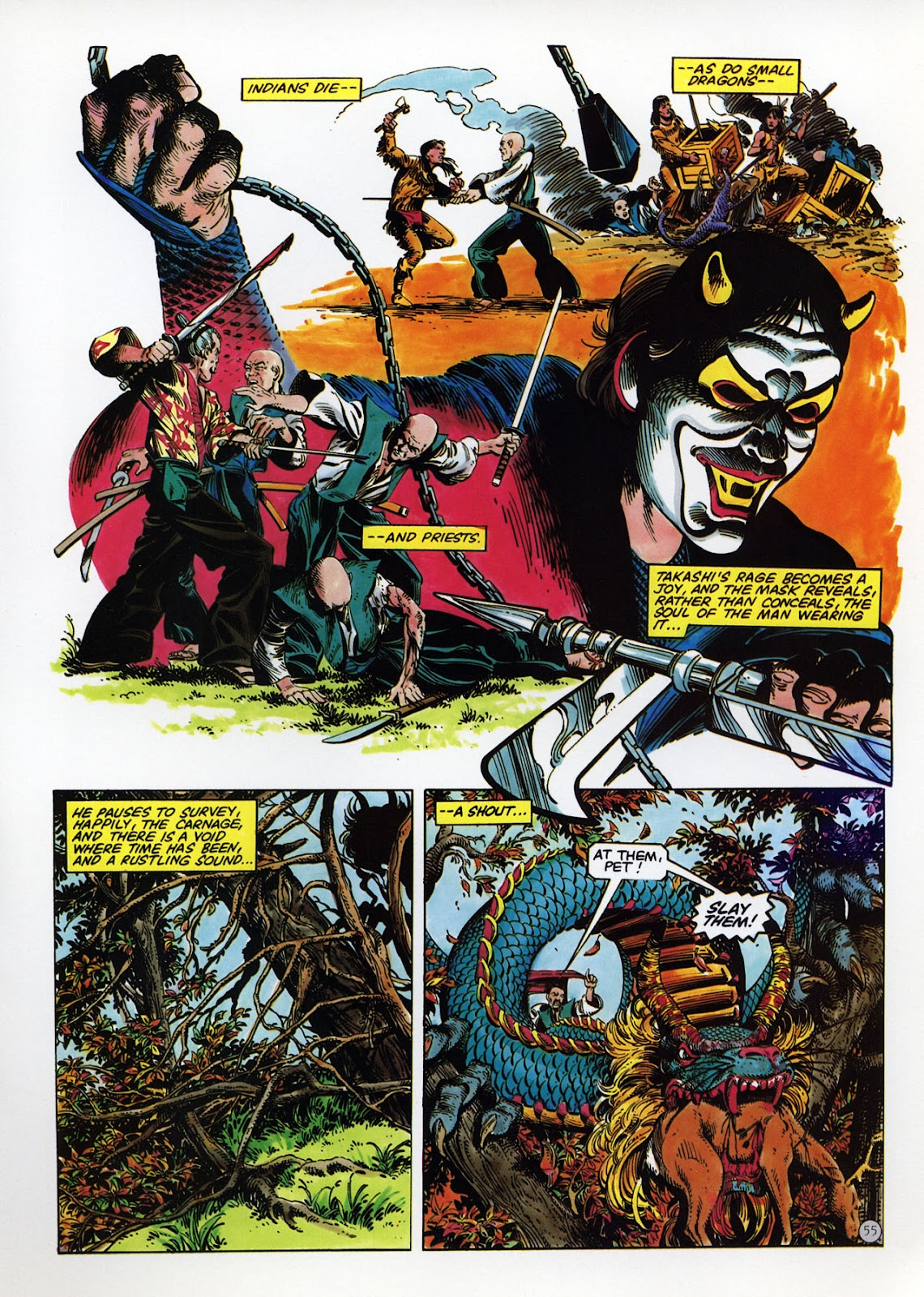 Read online Epic Graphic Novel: Last of the Dragons comic -  Issue # Full - 56
