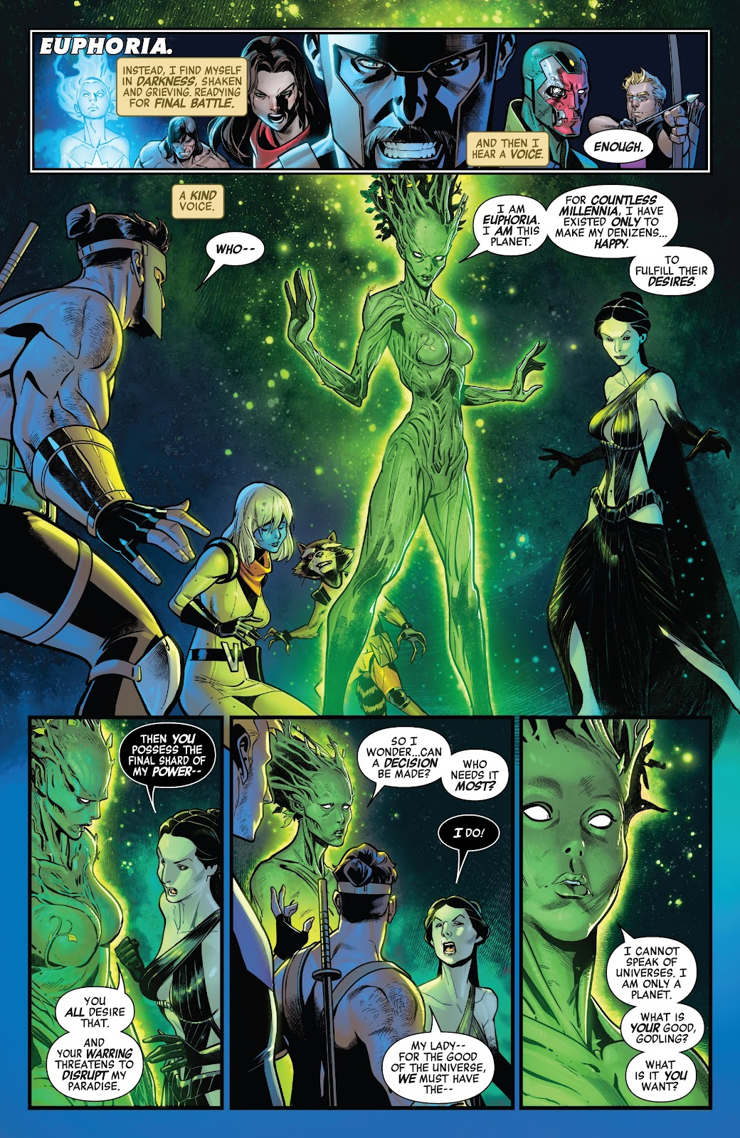 Read online Avengers No Road Home comic -  Issue #9 - 5