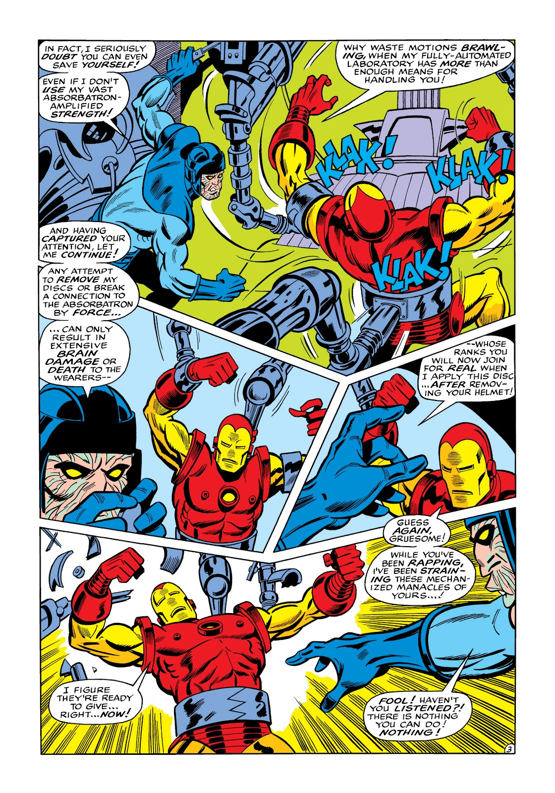 Read online Marvel Masterworks: The Invincible Iron Man comic -  Issue # TPB 5 (Part 3) - 41