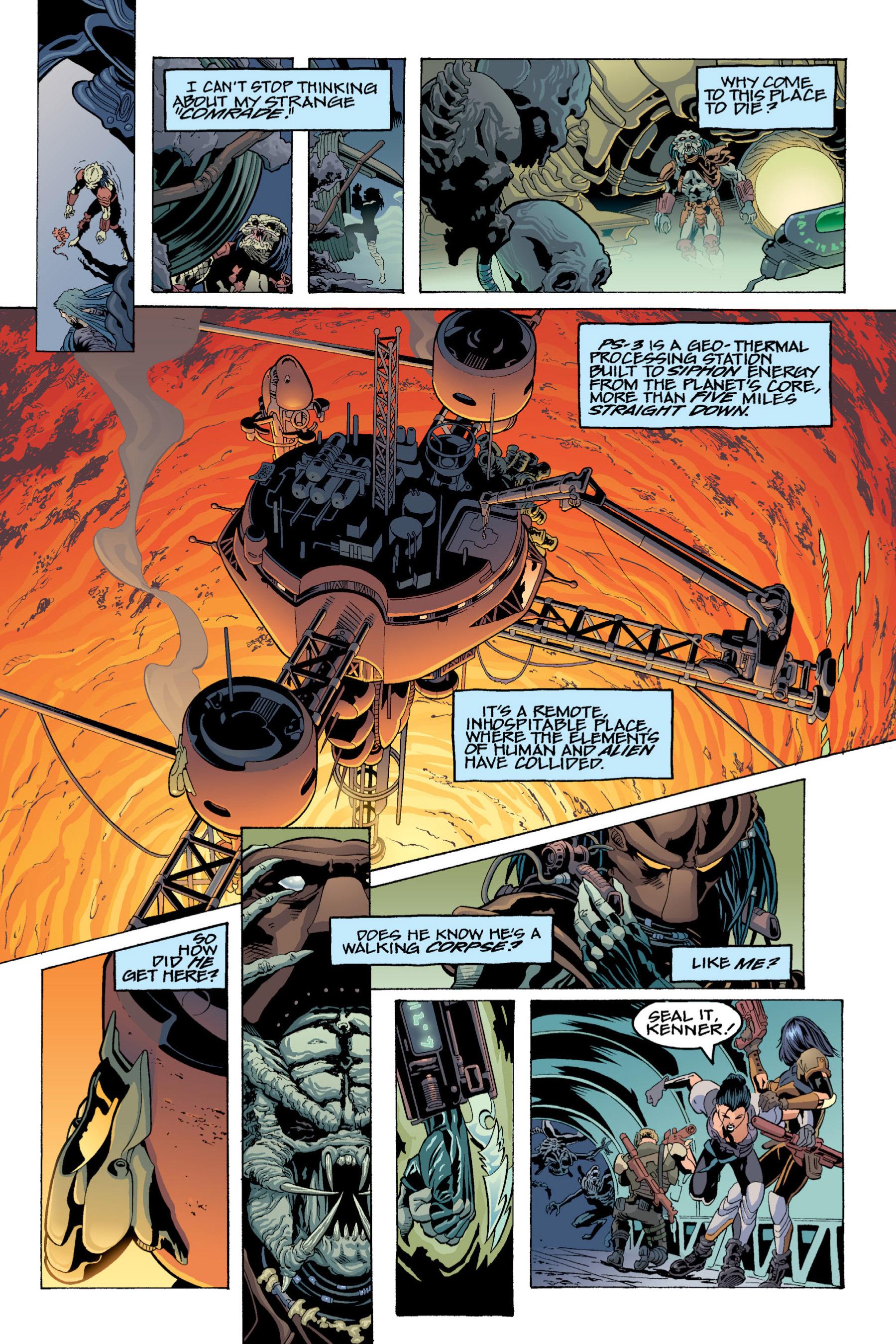 Read online Aliens vs. Predator Omnibus comic -  Issue # _TPB 2 Part 3 - 109