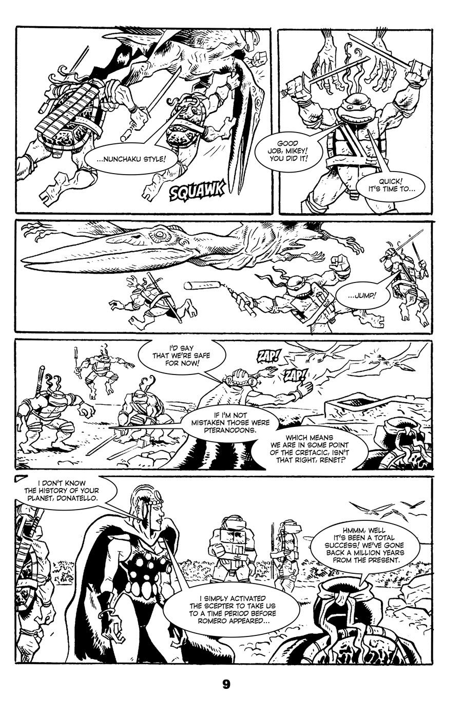 Read online Tales of the TMNT comic -  Issue #71 - 13