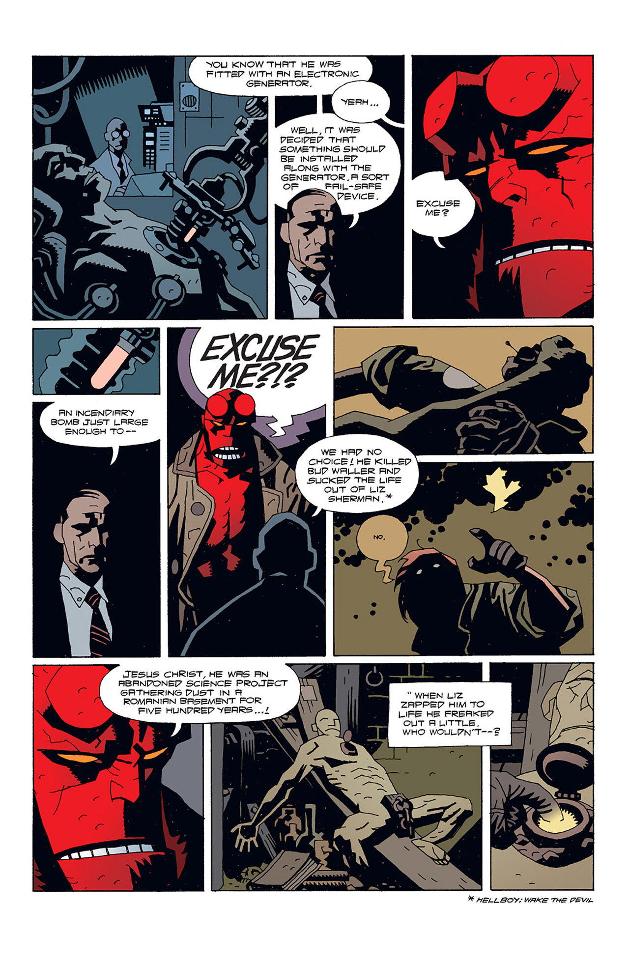 Read online Hellboy: Conqueror Worm comic -  Issue #1 - 14