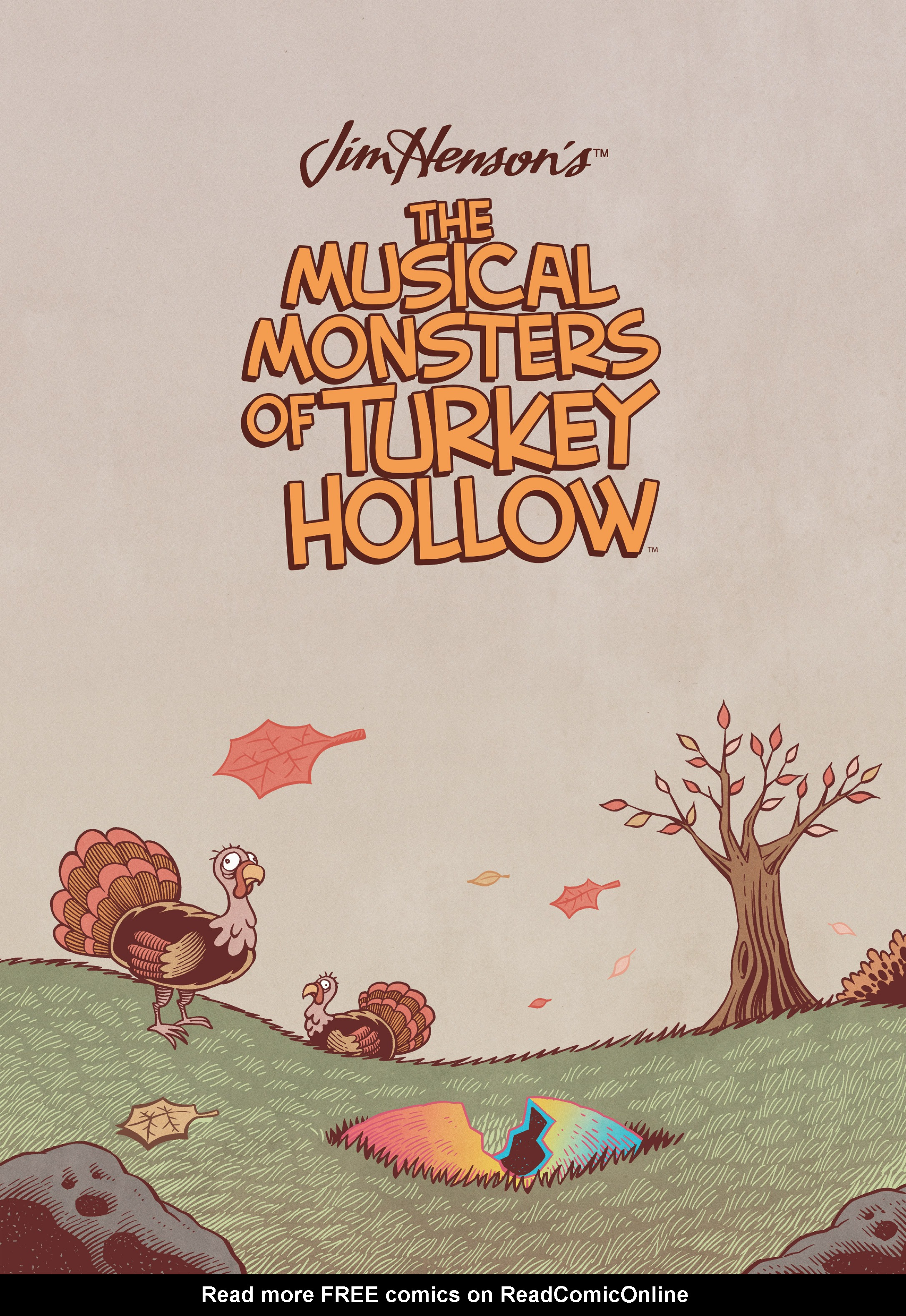Read online Jim Henson's The Musical Monsters of Turkey Hollow comic -  Issue # Full - 15