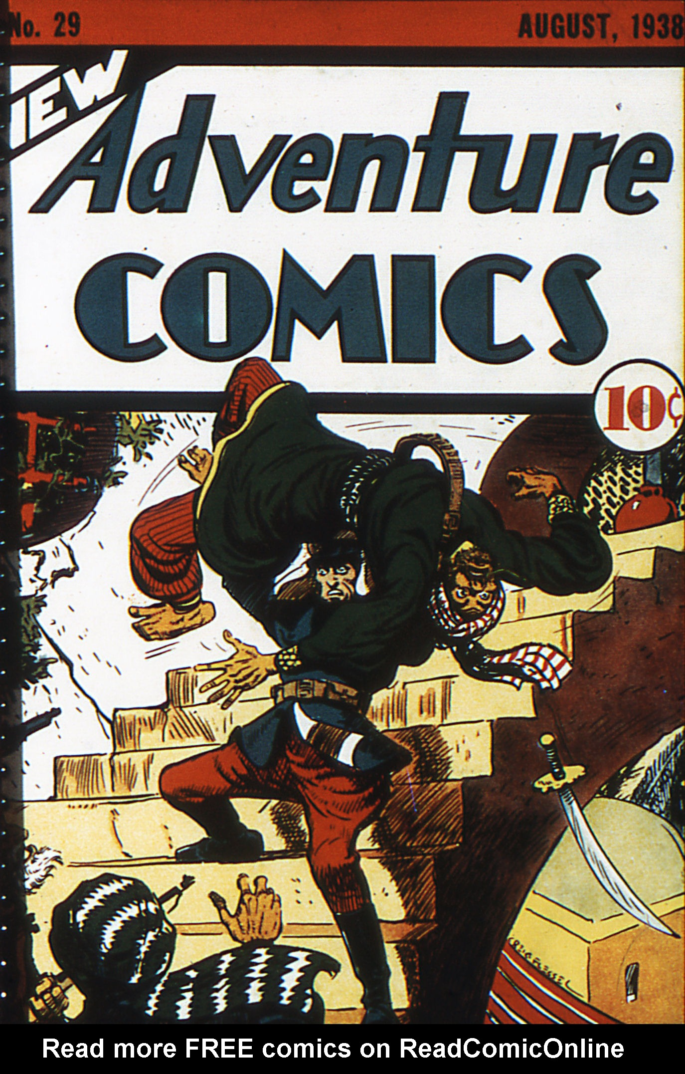 Read online Adventure Comics (1938) comic -  Issue #29 - 1