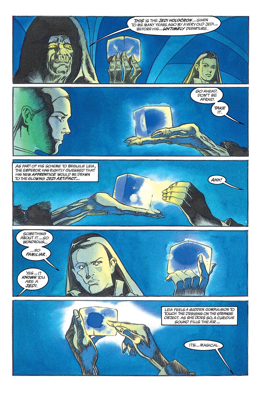 Read online Star Wars: Dark Empire Trilogy comic -  Issue # TPB (Part 2) - 12