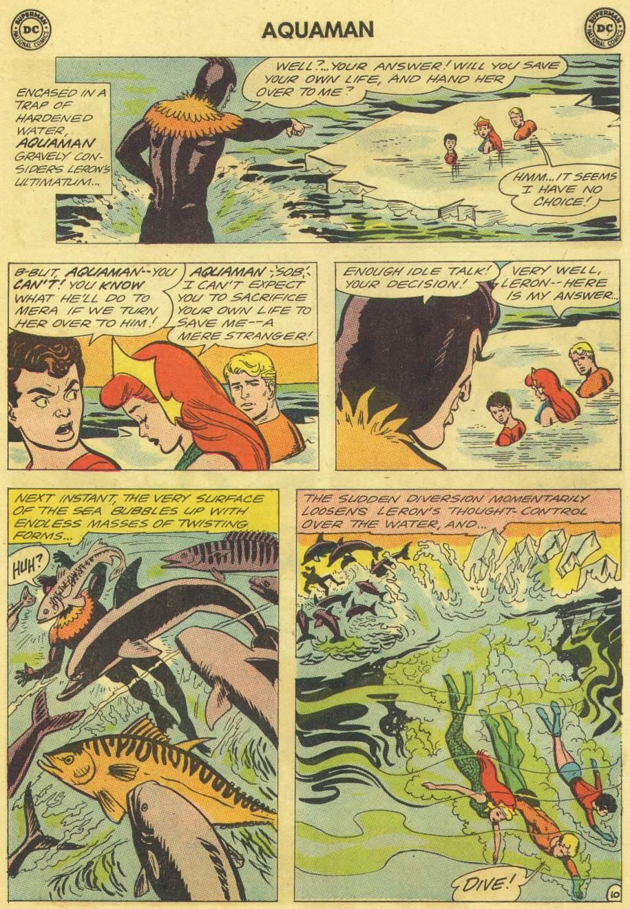 Read online Aquaman (1962) comic -  Issue #11 - 15
