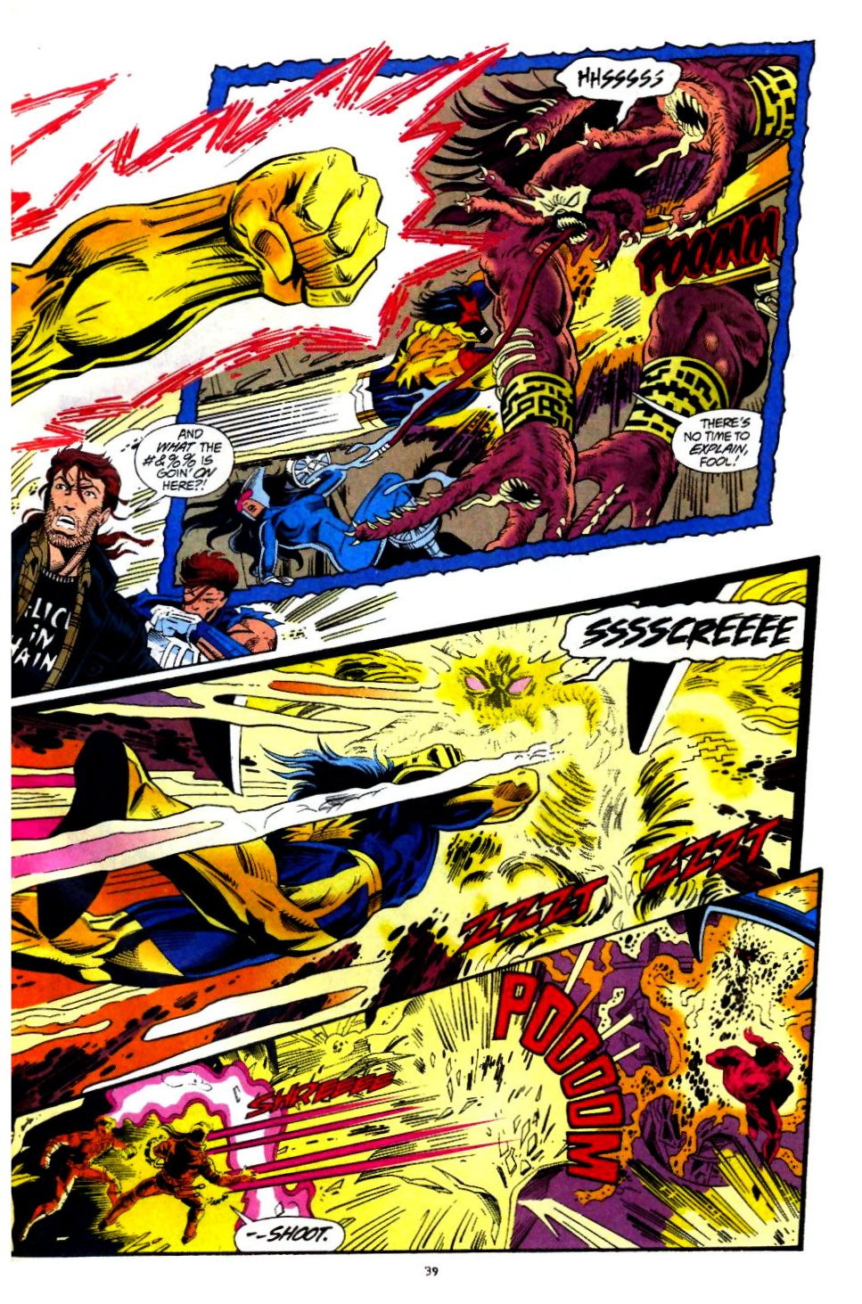 The New Warriors Issue #60 #64 - English 30