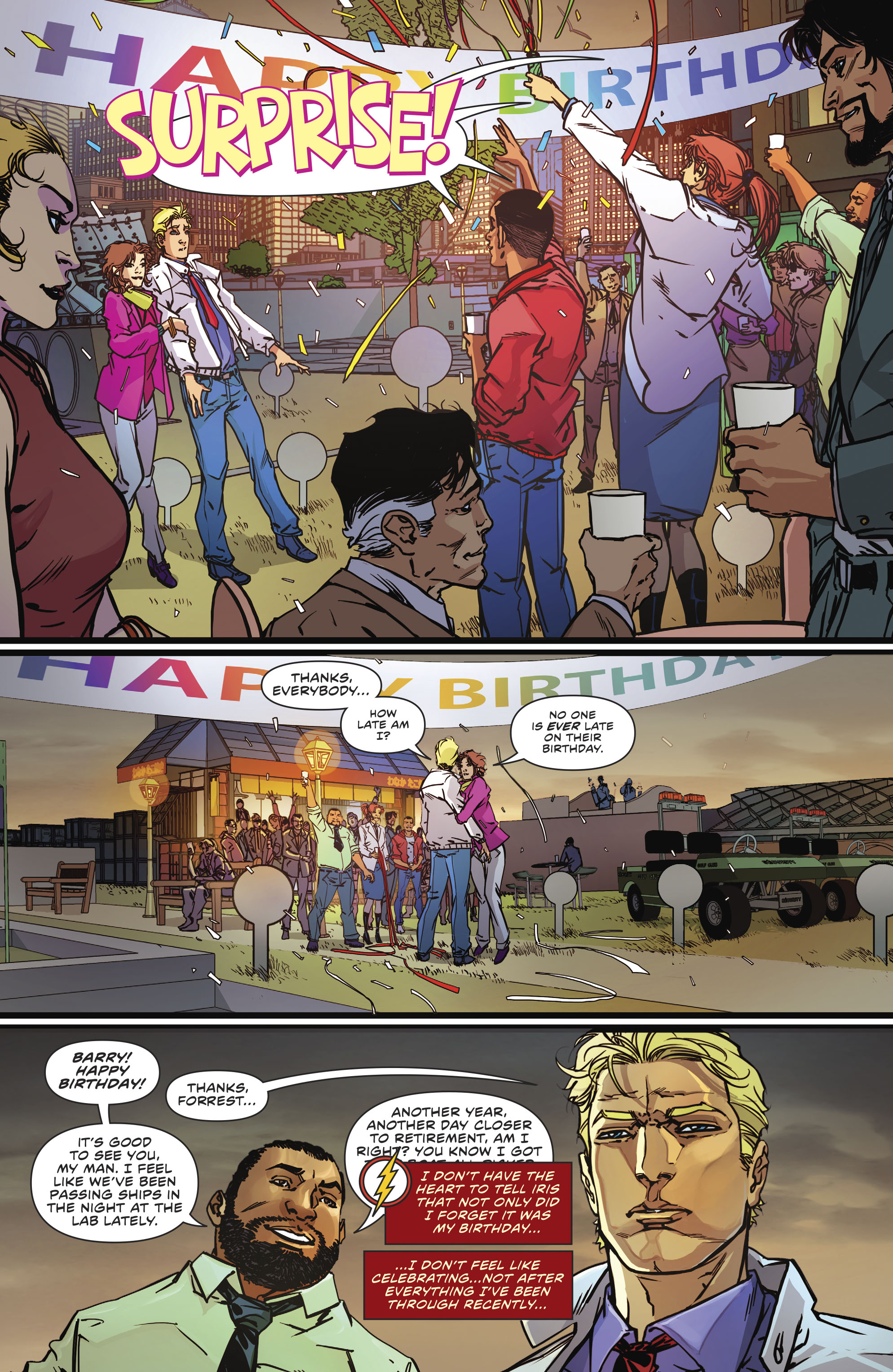 Read online The Flash (2016) comic -  Issue #23 - 6