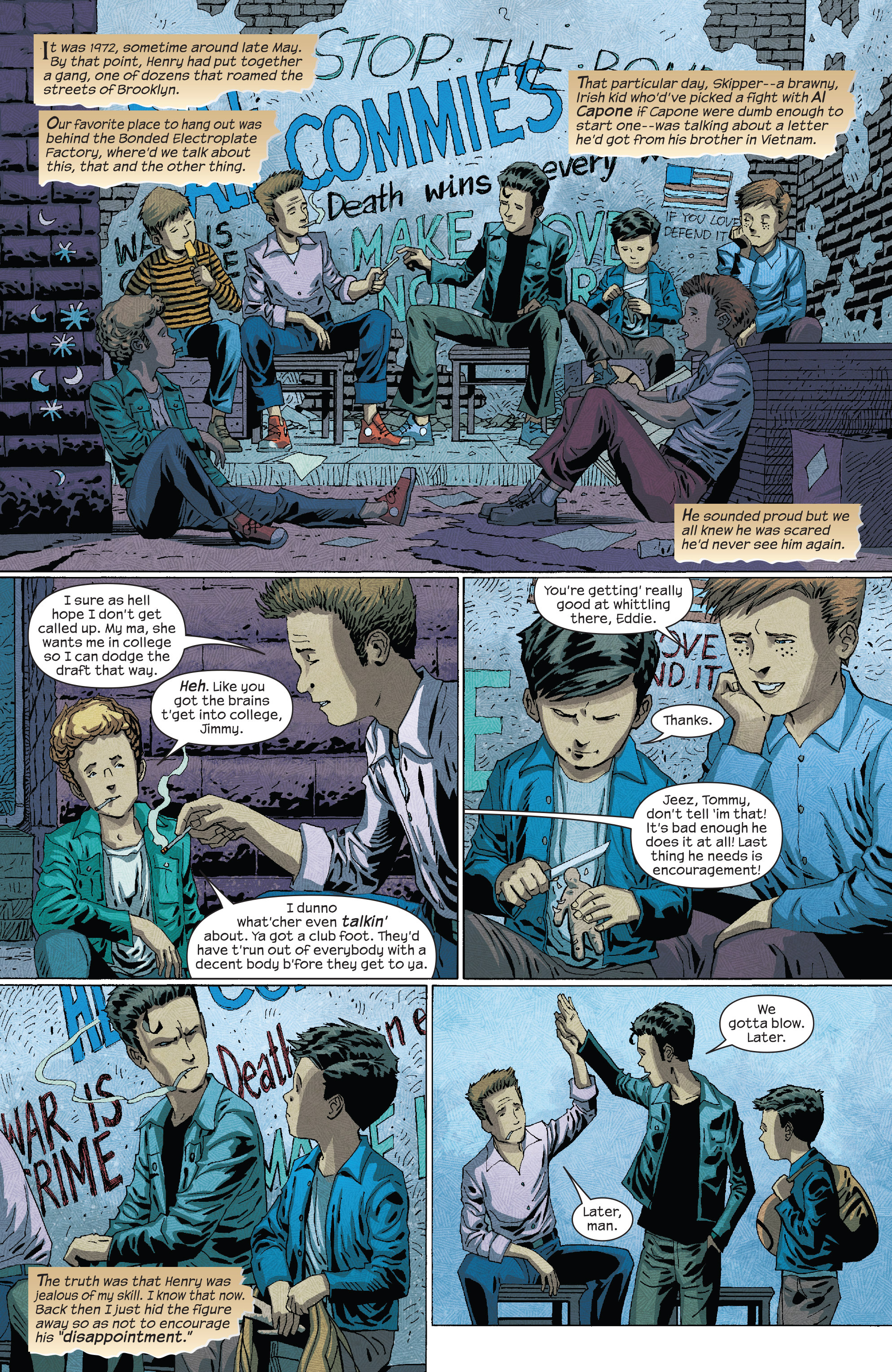 Read online Dark Tower: The Drawing of the Three - The Prisoner comic -  Issue #3 - 3