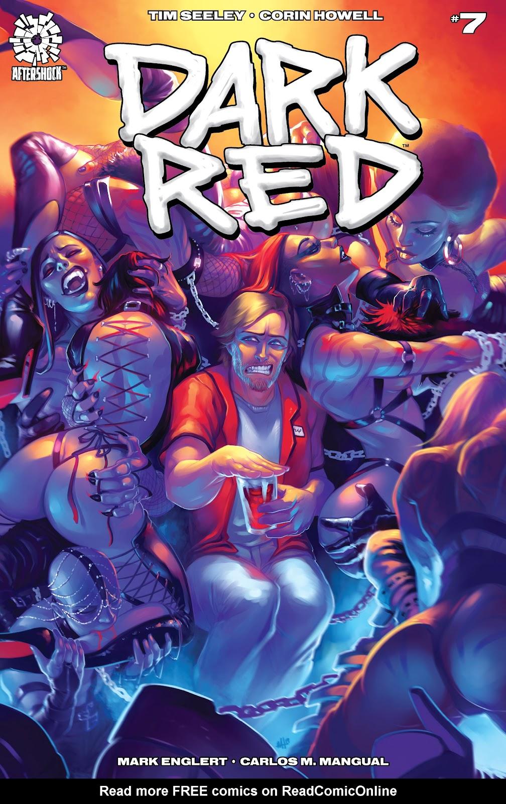 Read online Dark Red comic -  Issue #7 - 1