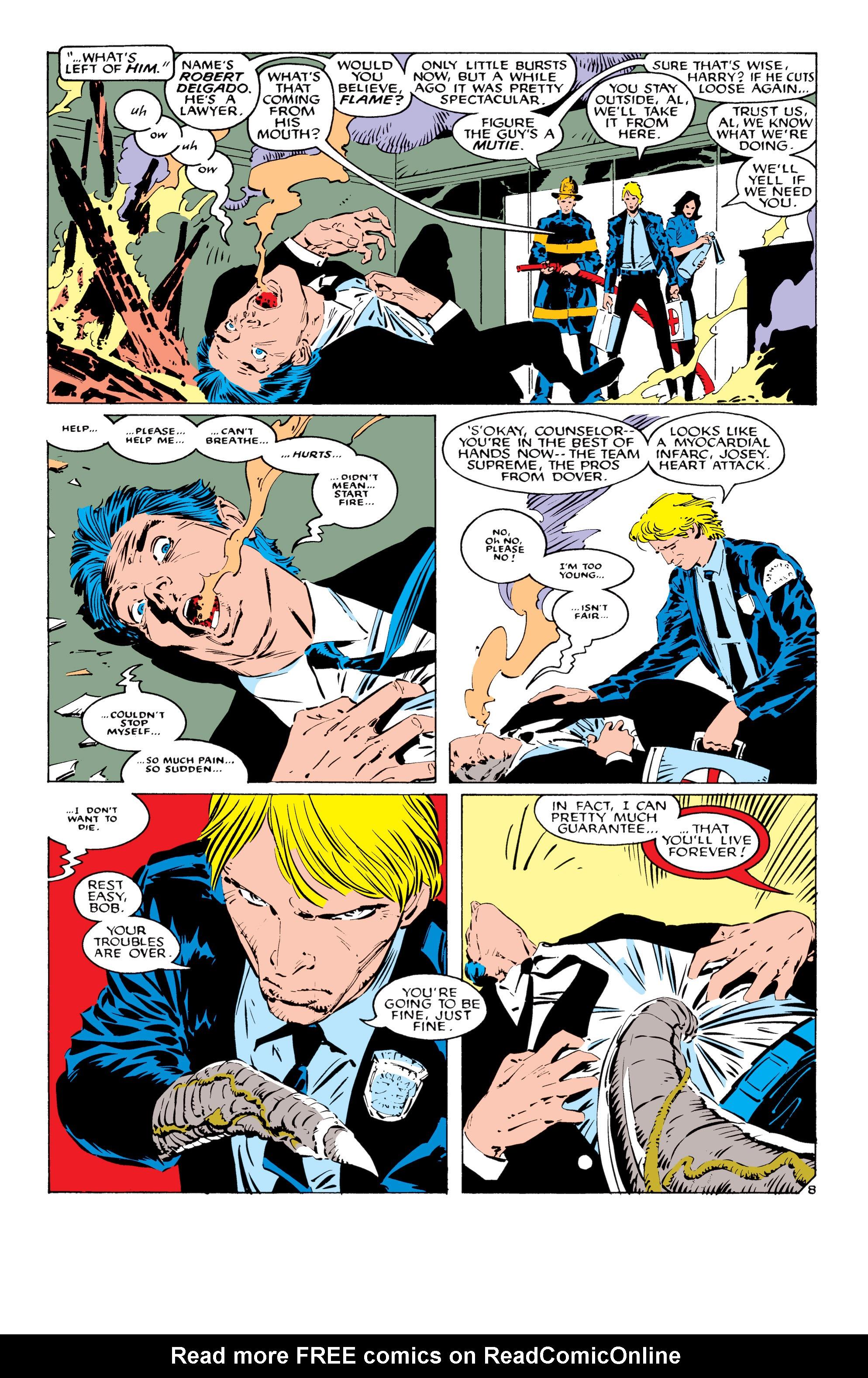 Read online Uncanny X-Men (1963) comic -  Issue #232 - 9