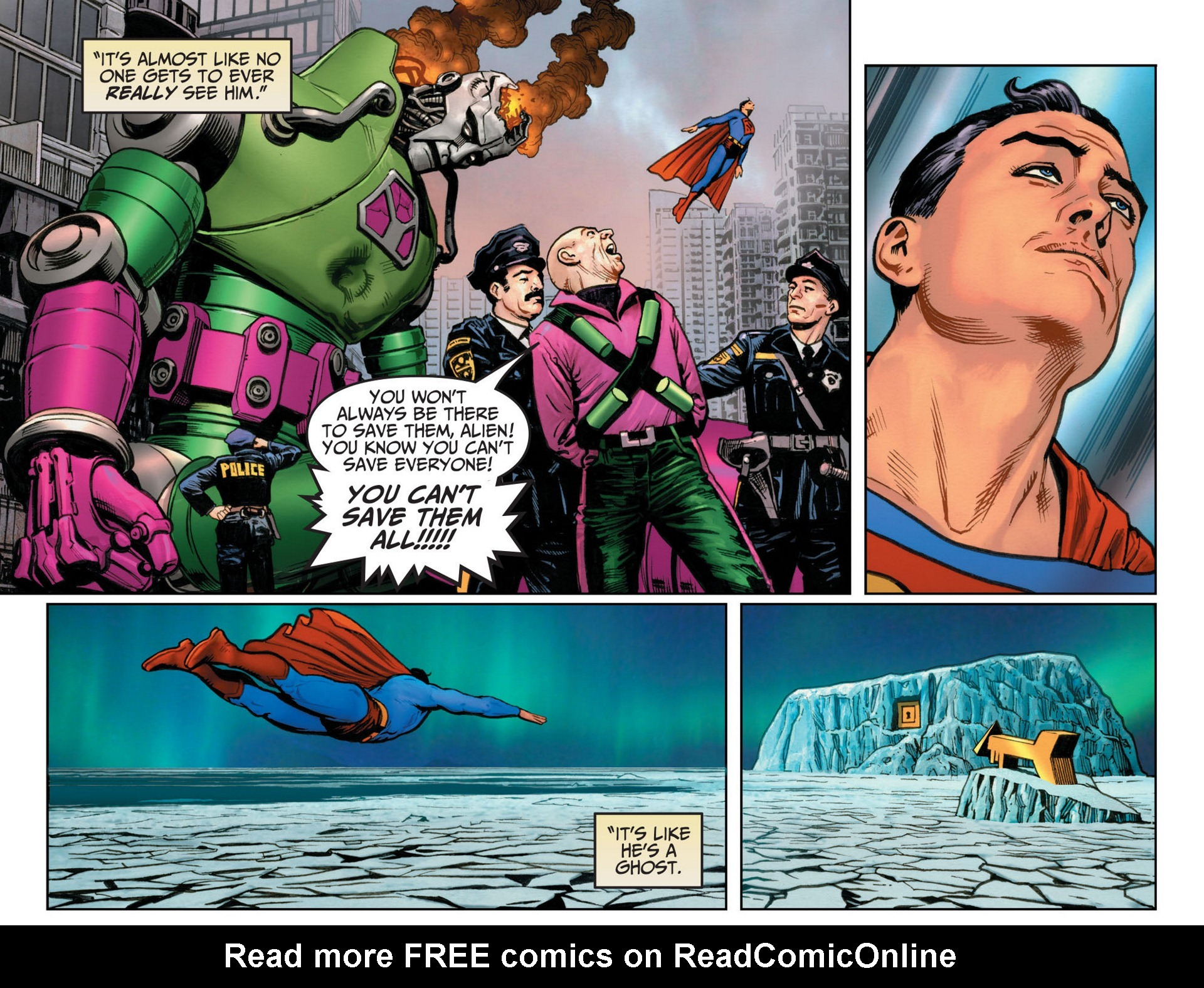 Read online Adventures of Superman [I] comic -  Issue #12 - 19