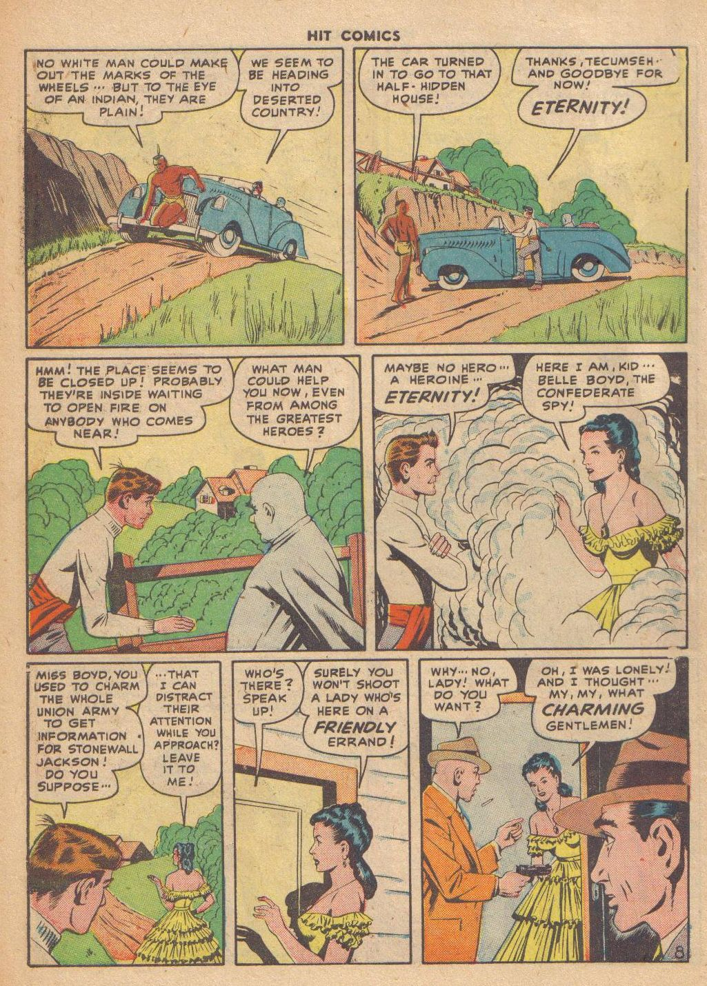 Read online Hit Comics comic -  Issue #46 - 10