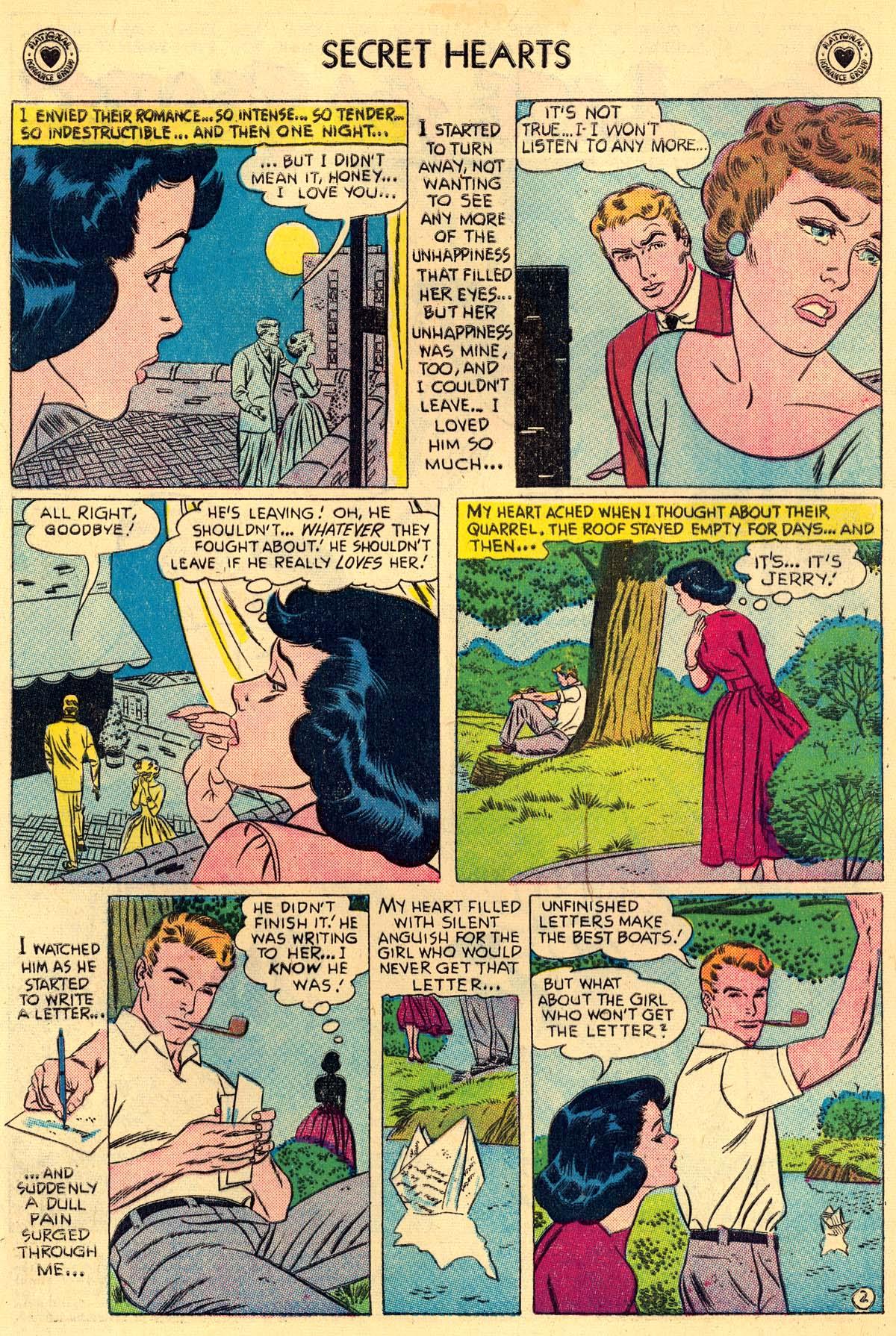 Read online Secret Hearts comic -  Issue #43 - 4