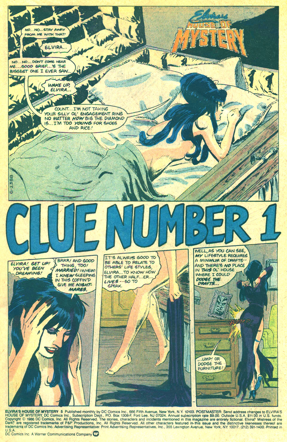 Elvira's House of Mystery Issue #5 #6 - English 2