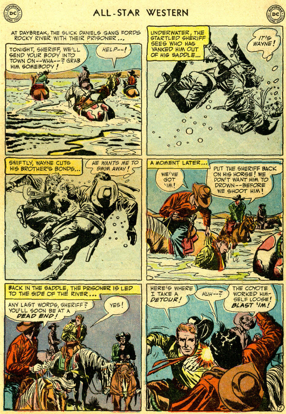 Read online All-Star Western (1951) comic -  Issue #64 - 9