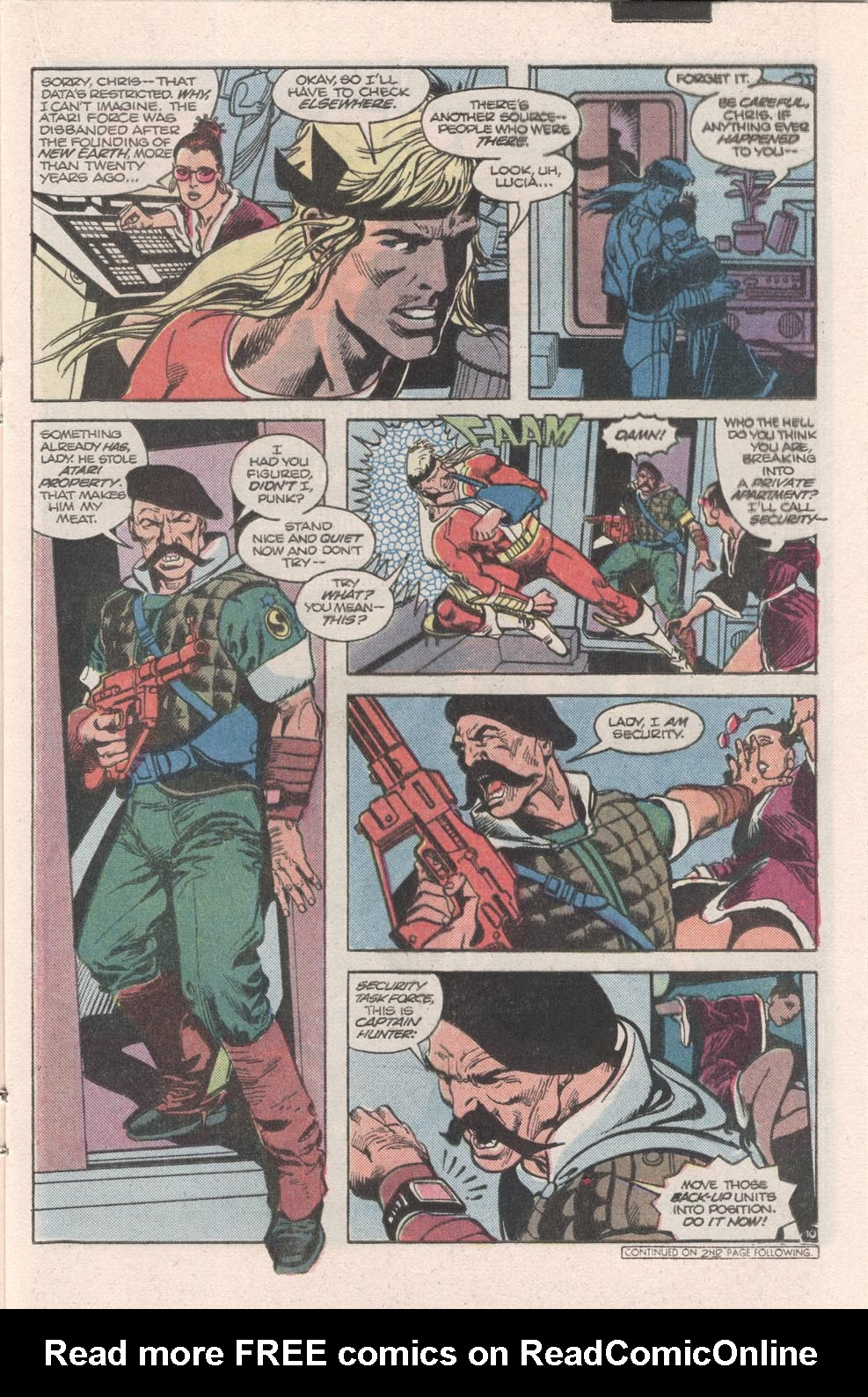 Read online Atari Force (1984) comic -  Issue #9 - 11