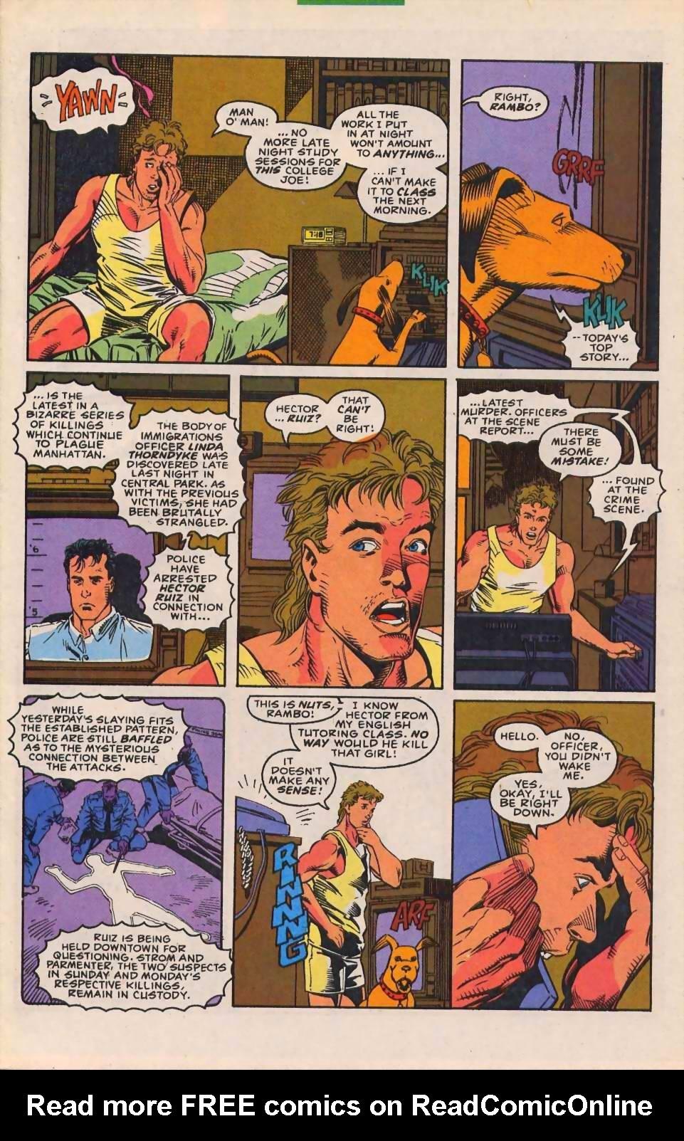 Read online Sleepwalker comic -  Issue #30 - 4