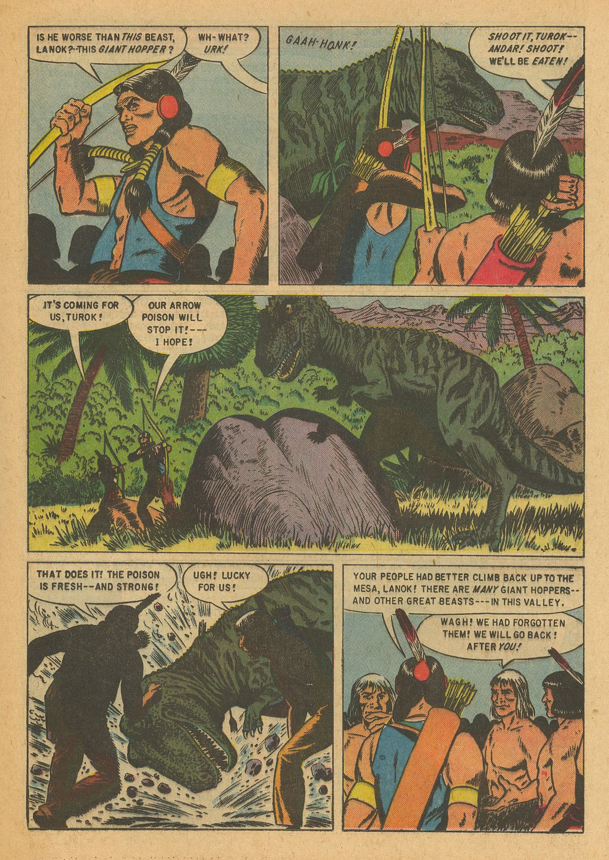 Read online Turok, Son of Stone comic -  Issue #6 - 13