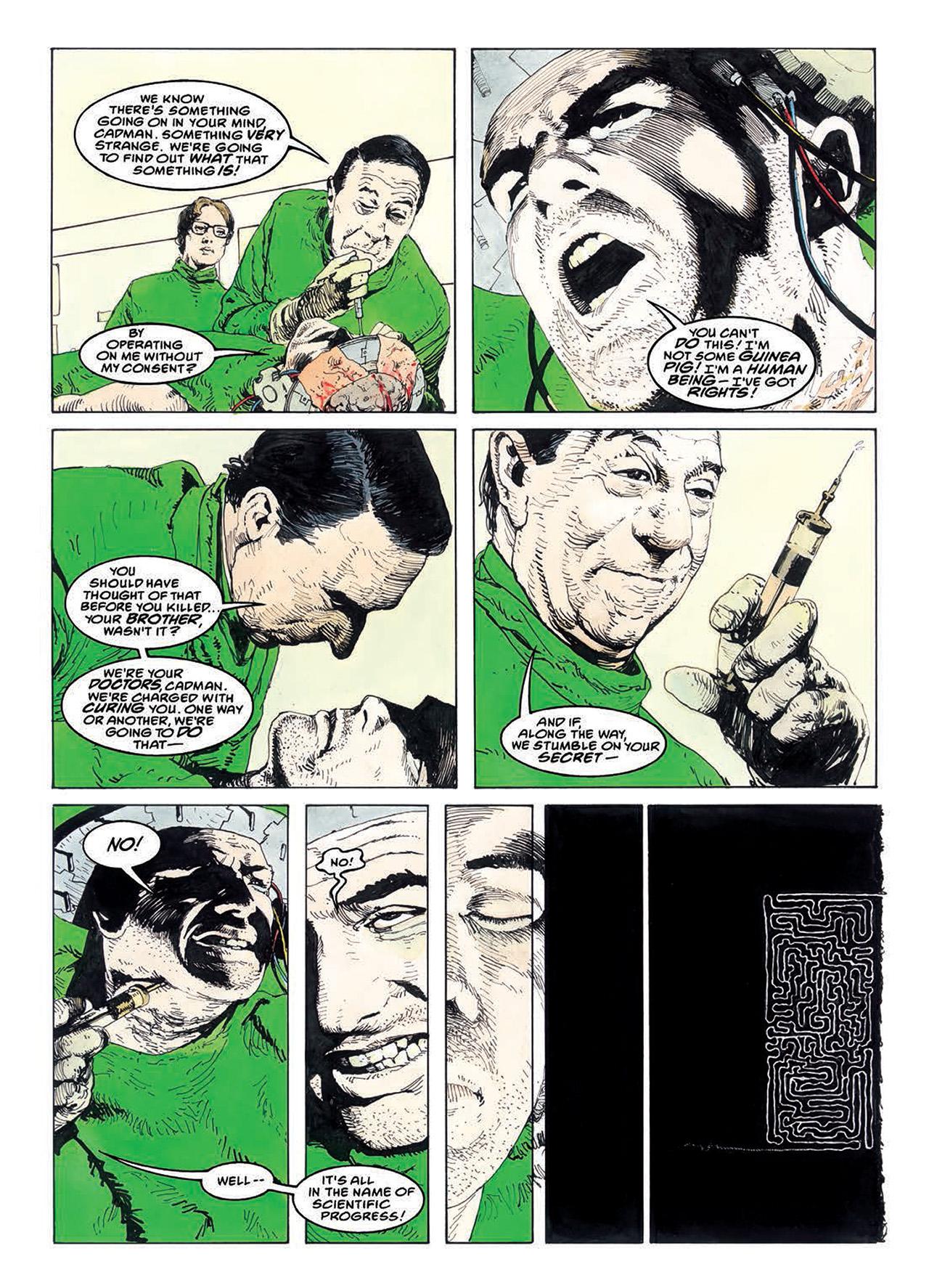 Read online Mazeworld comic -  Issue # TPB - 125