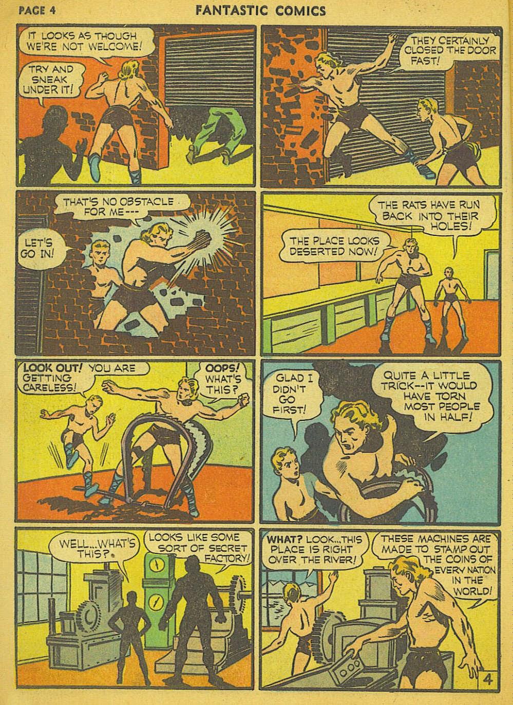 Read online Fantastic Comics comic -  Issue #15 - 33