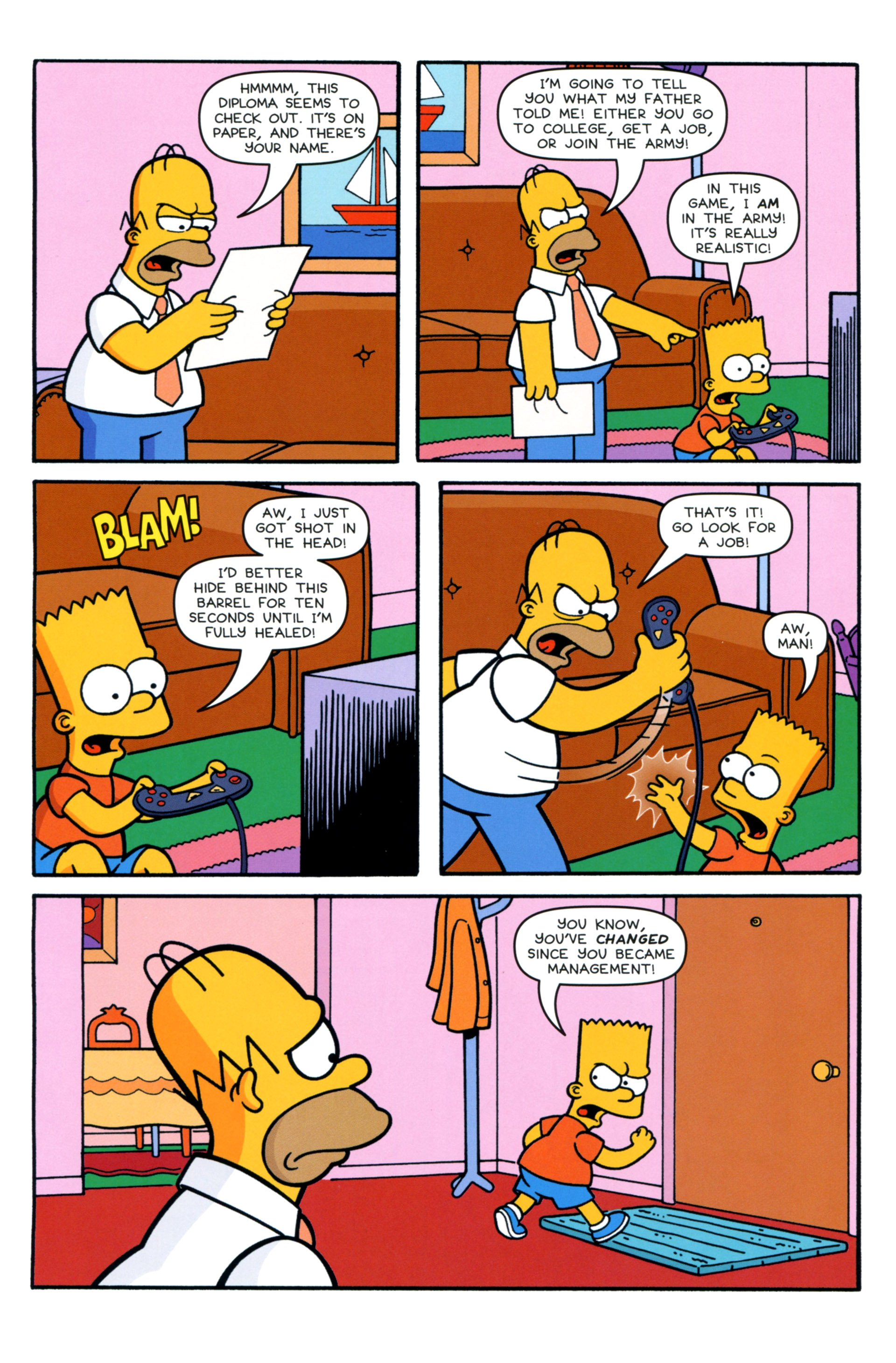 Read online Simpsons Comics comic -  Issue #202 - 11