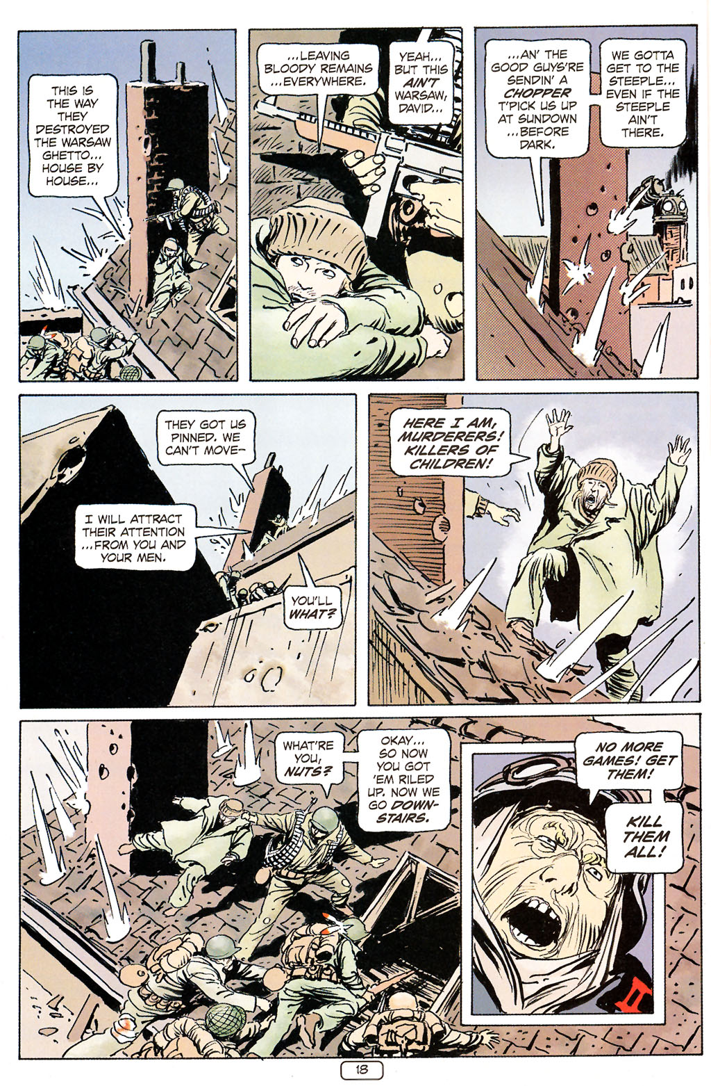 Read online Sgt. Rock: The Prophecy comic -  Issue #6 - 18
