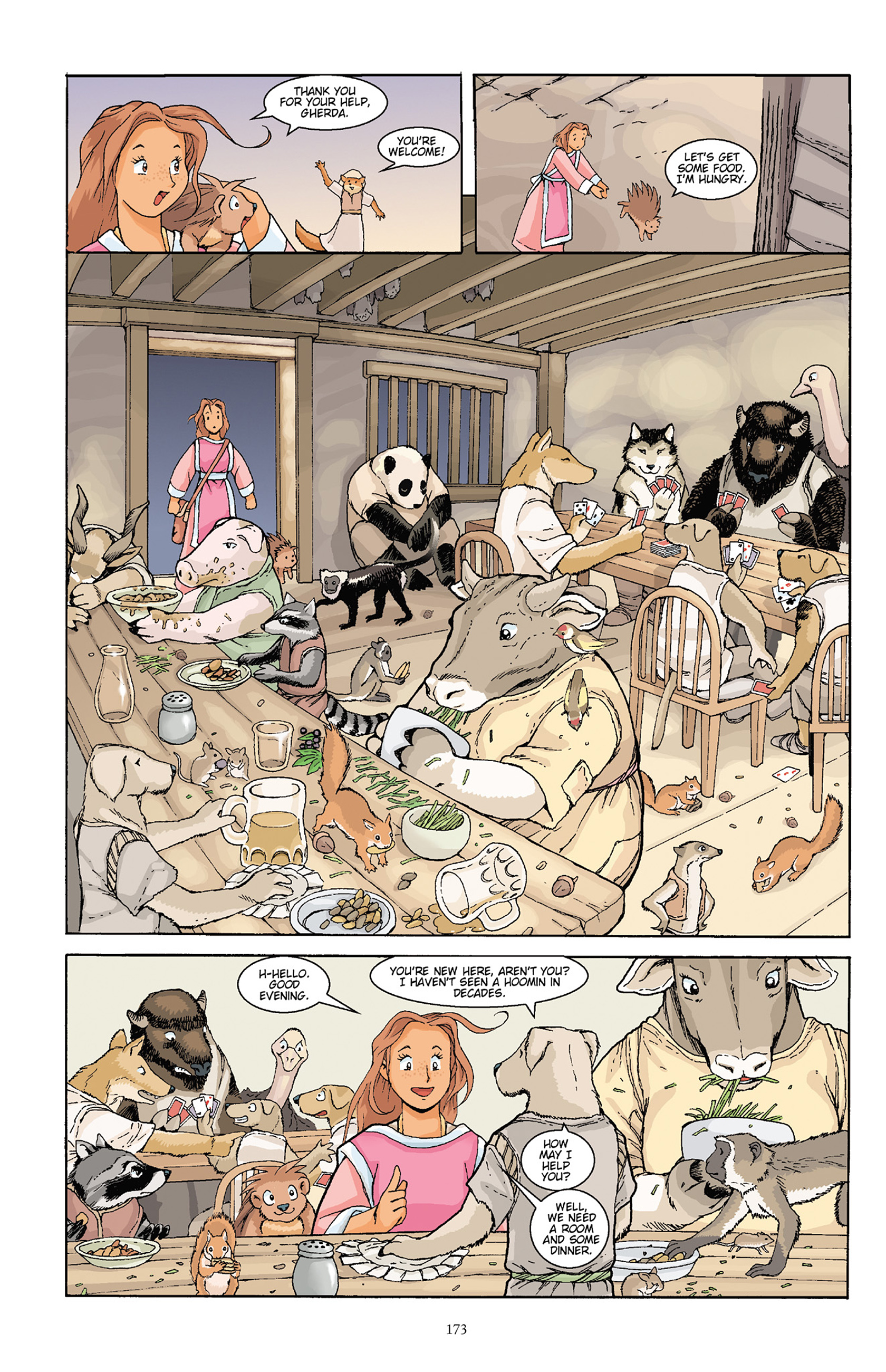 Read online Courageous Princess comic -  Issue # TPB 1 - 171