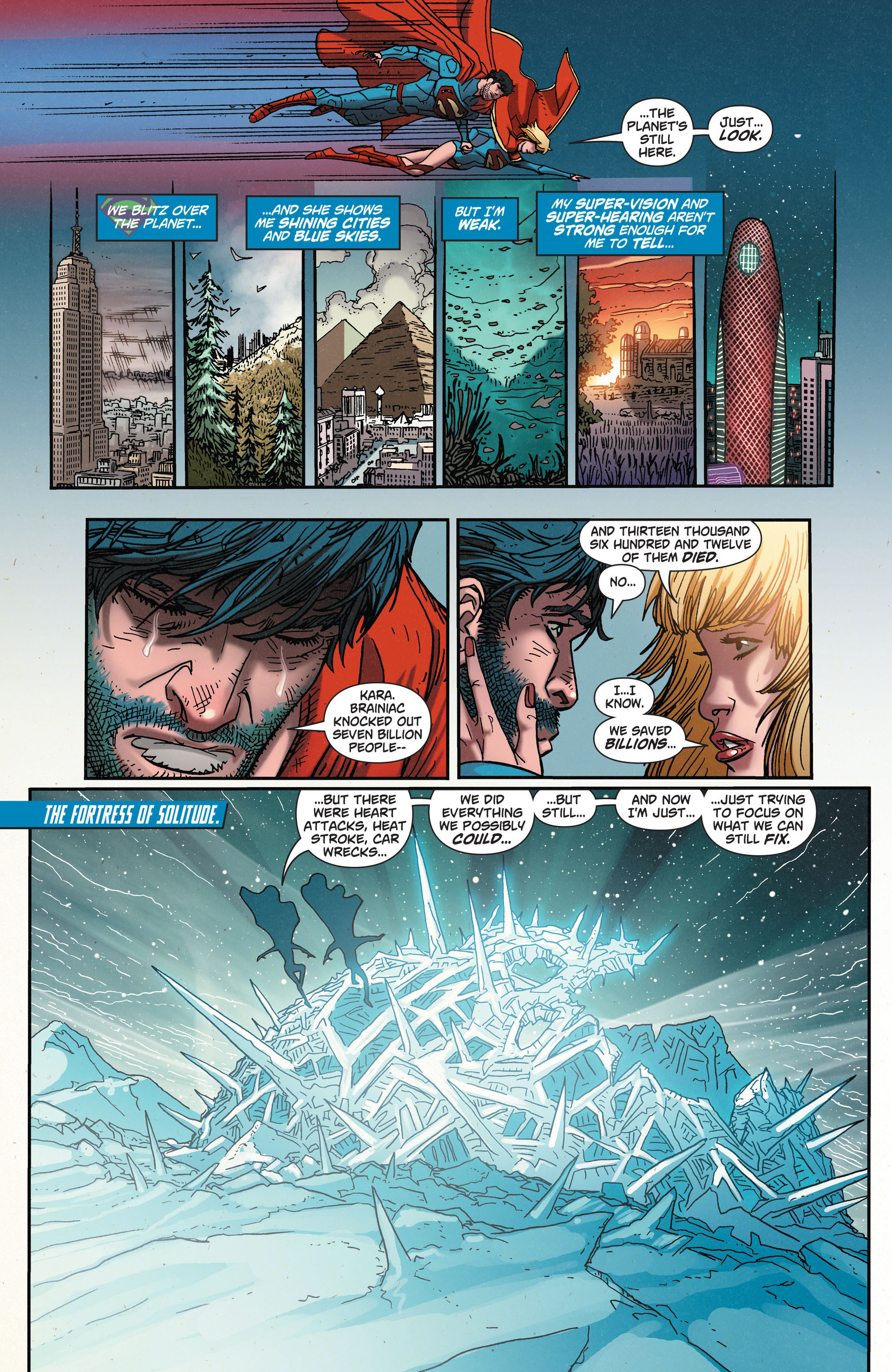 Read online Action Comics (2011) comic -  Issue #35 - 6
