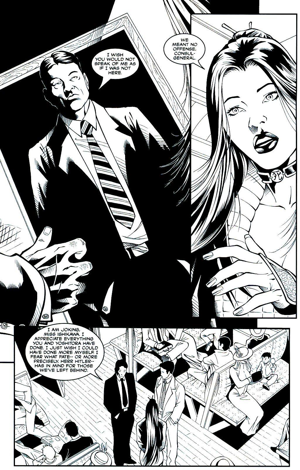 Read online Shi: Sempo comic -  Issue #1 - 19