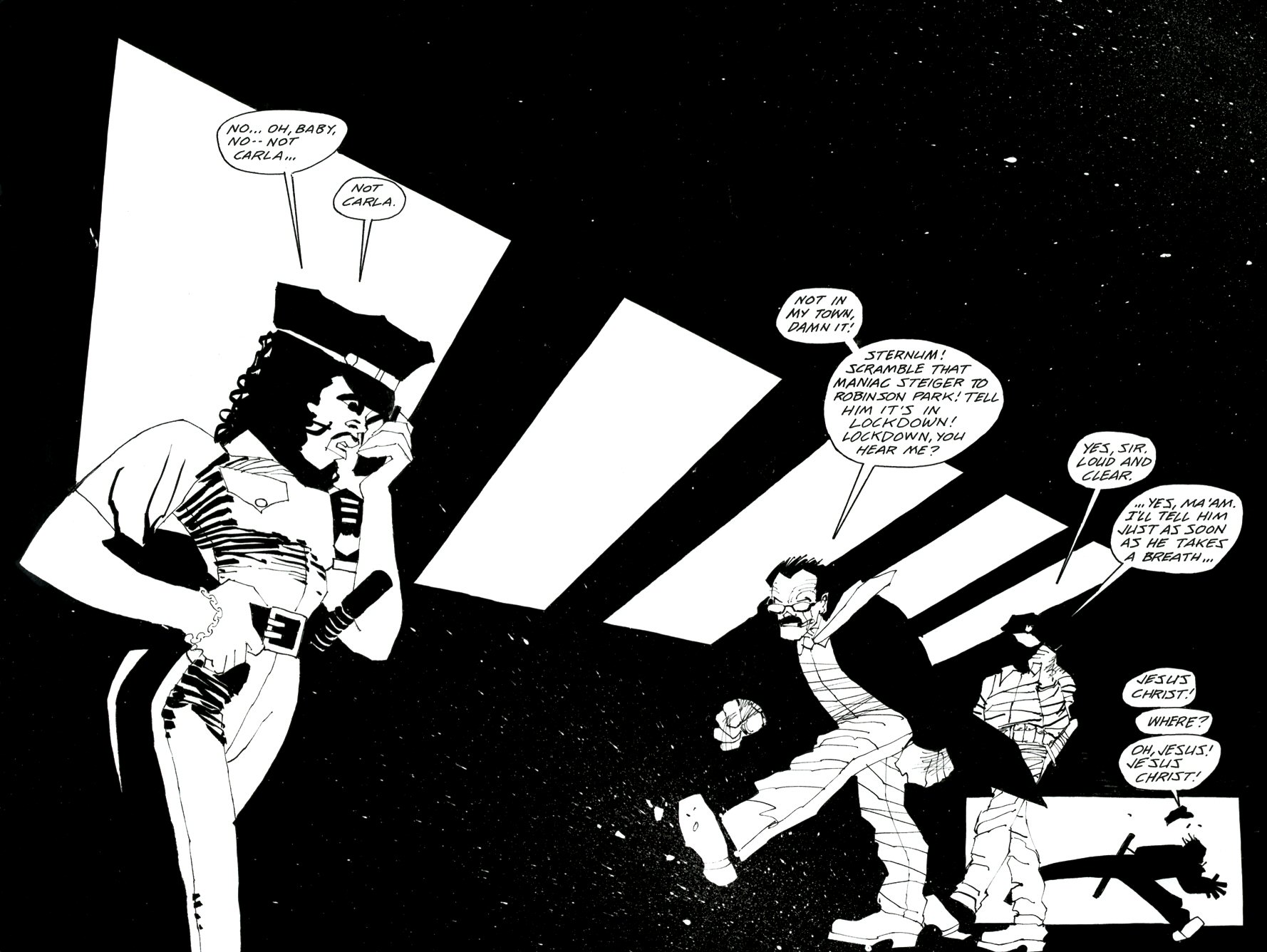 Read online Frank Miller's Holy Terror comic -  Issue # TPB - 62