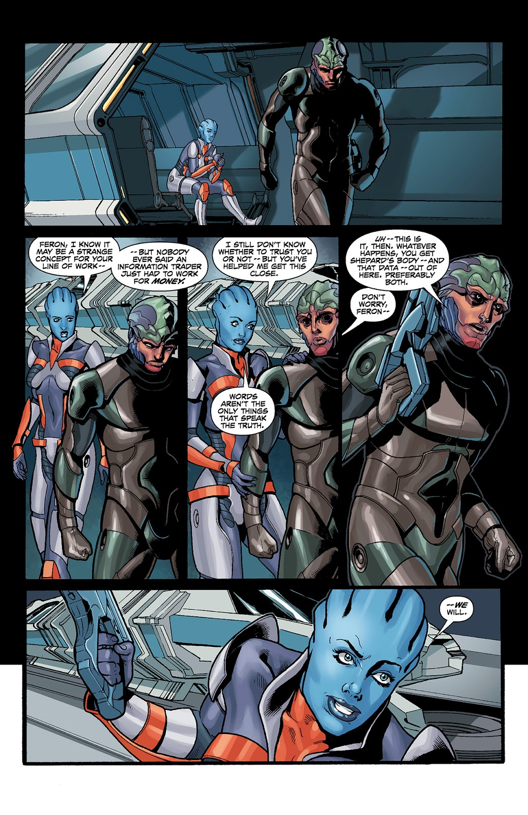 Mass Effect: Redemption Issue #4 #4 - English 10