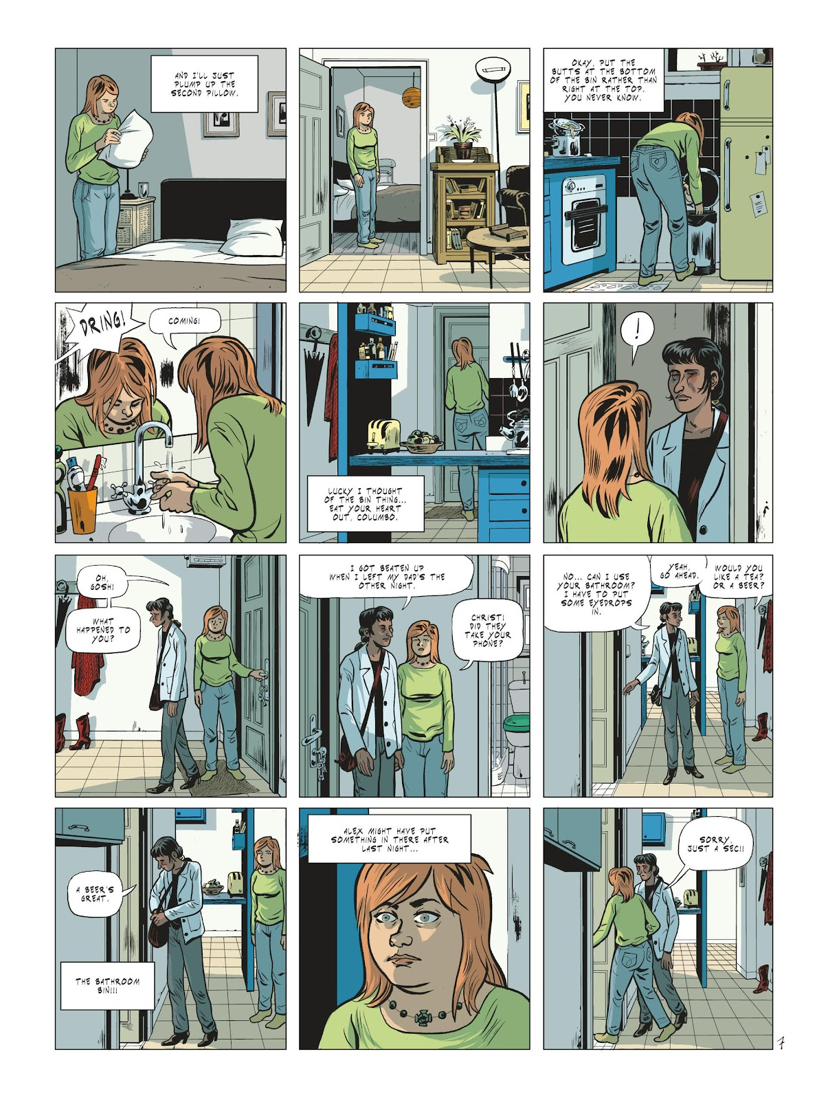 Read online Maggy Garrisson comic -  Issue #2 - 9