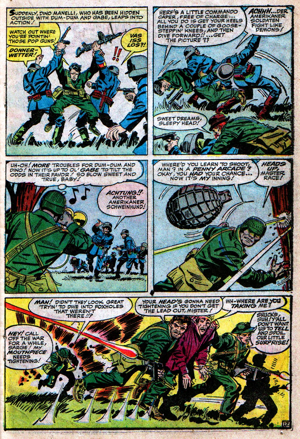 Read online Sgt. Fury comic -  Issue #4 - 23
