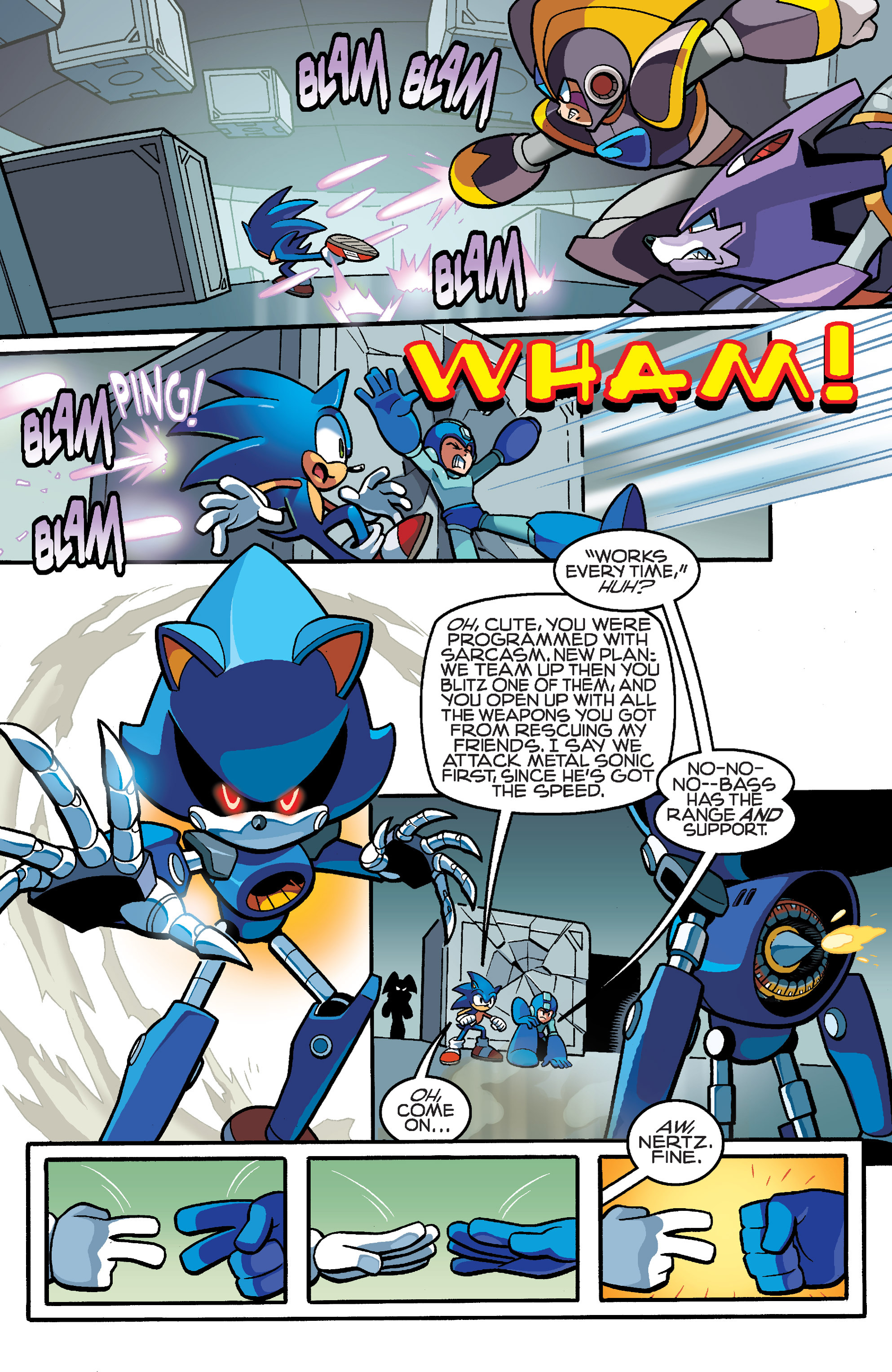 Read online Sonic Mega Man Worlds Collide comic -  Issue # Vol 3 - 81